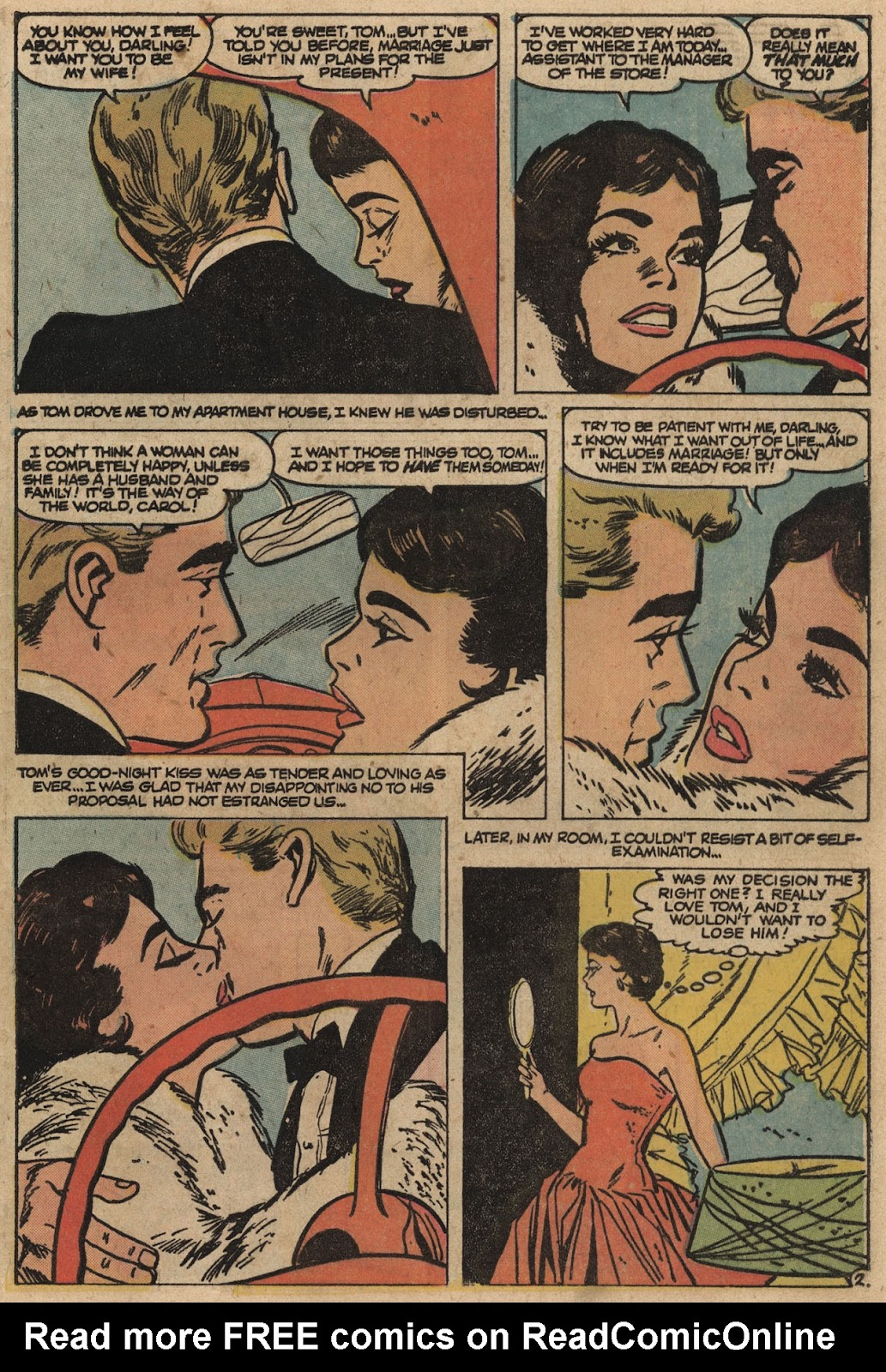 Love Romances (1949) issue 66 - Page 29