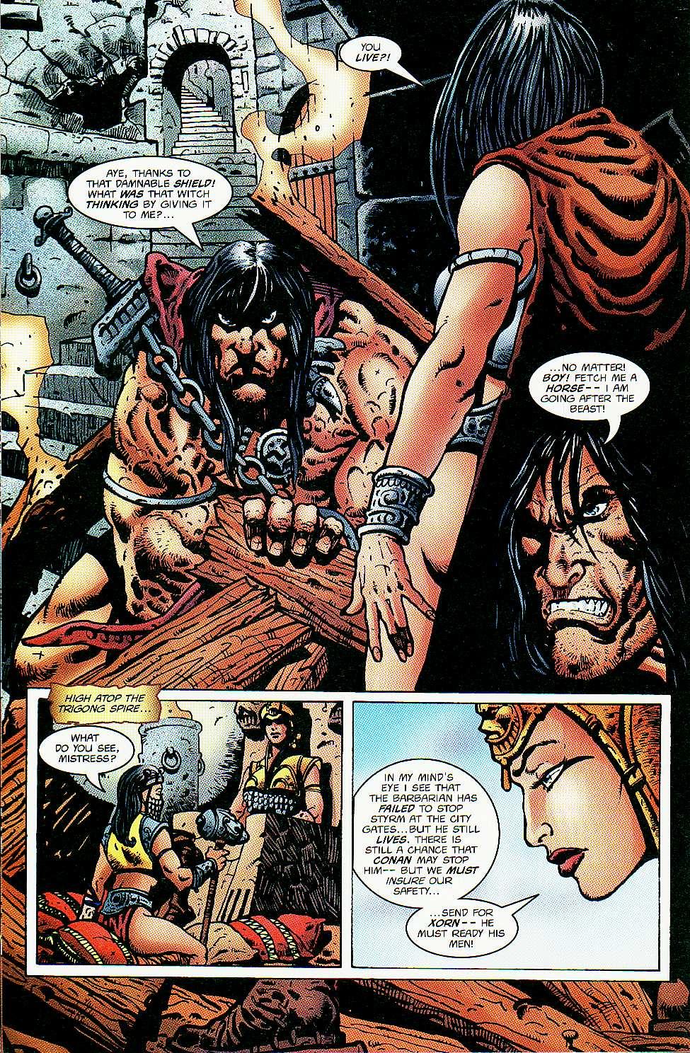 Read online Conan: Return of Styrm comic -  Issue #3 - 15