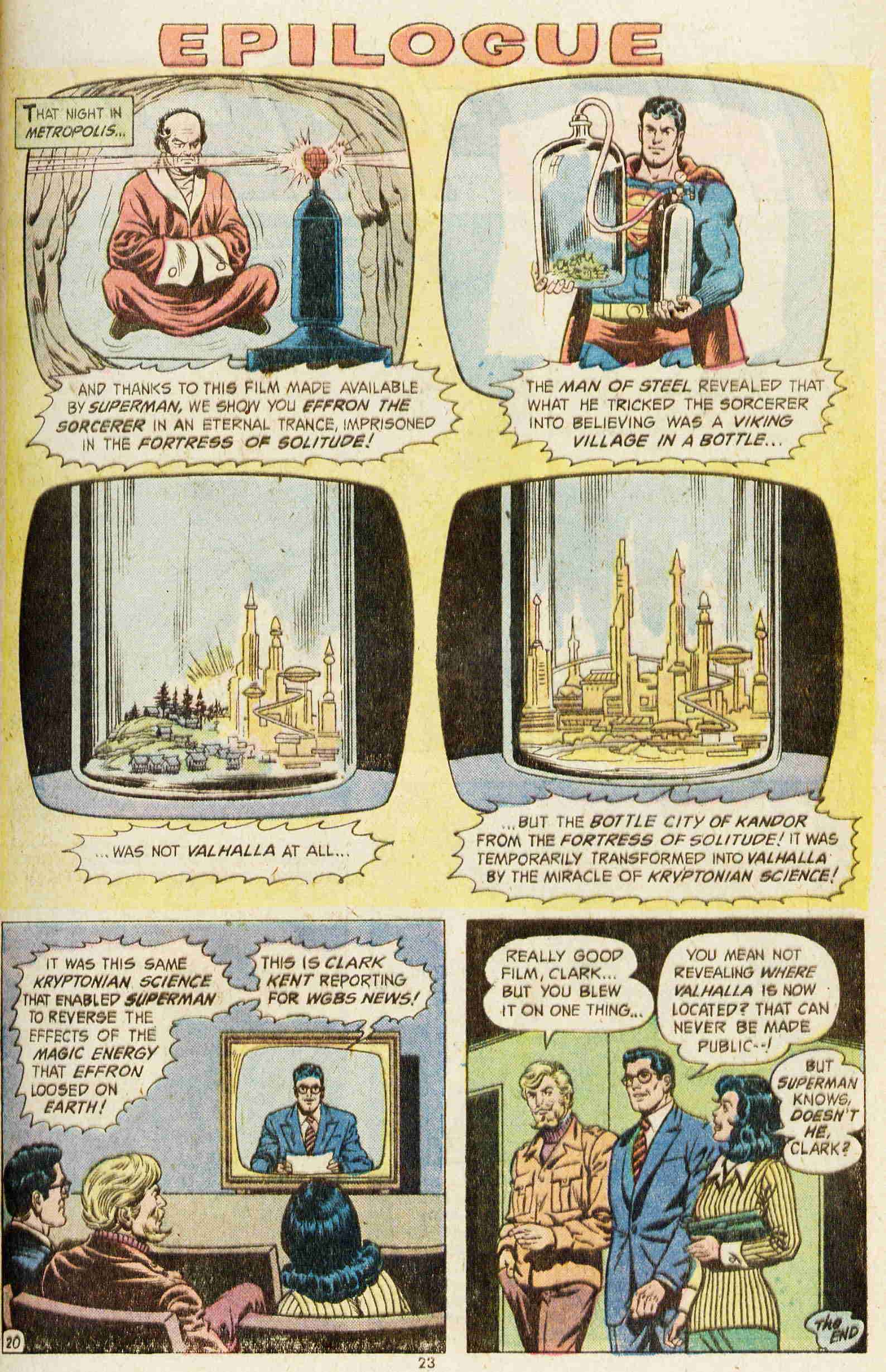 Read online Action Comics (1938) comic -  Issue #437 - 22