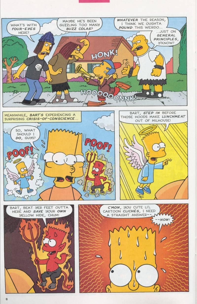 Read online Simpsons Comics Presents Bart Simpson comic -  Issue #6 - 21