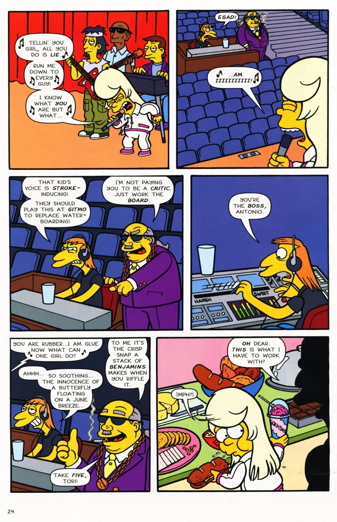 Read online Simpsons Comics comic -  Issue #173 - 18