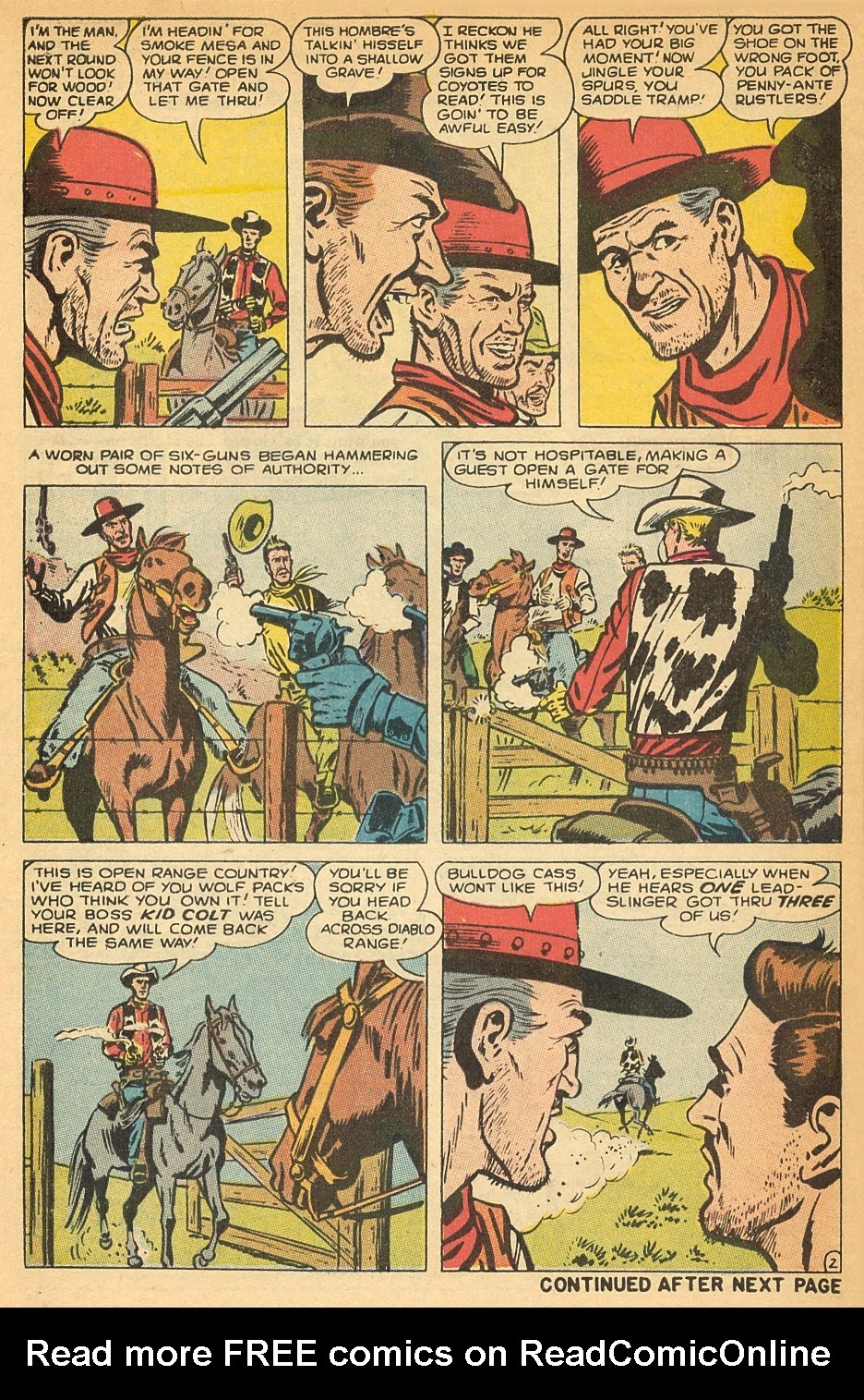 Kid Colt Outlaw issue 140 - Page 30
