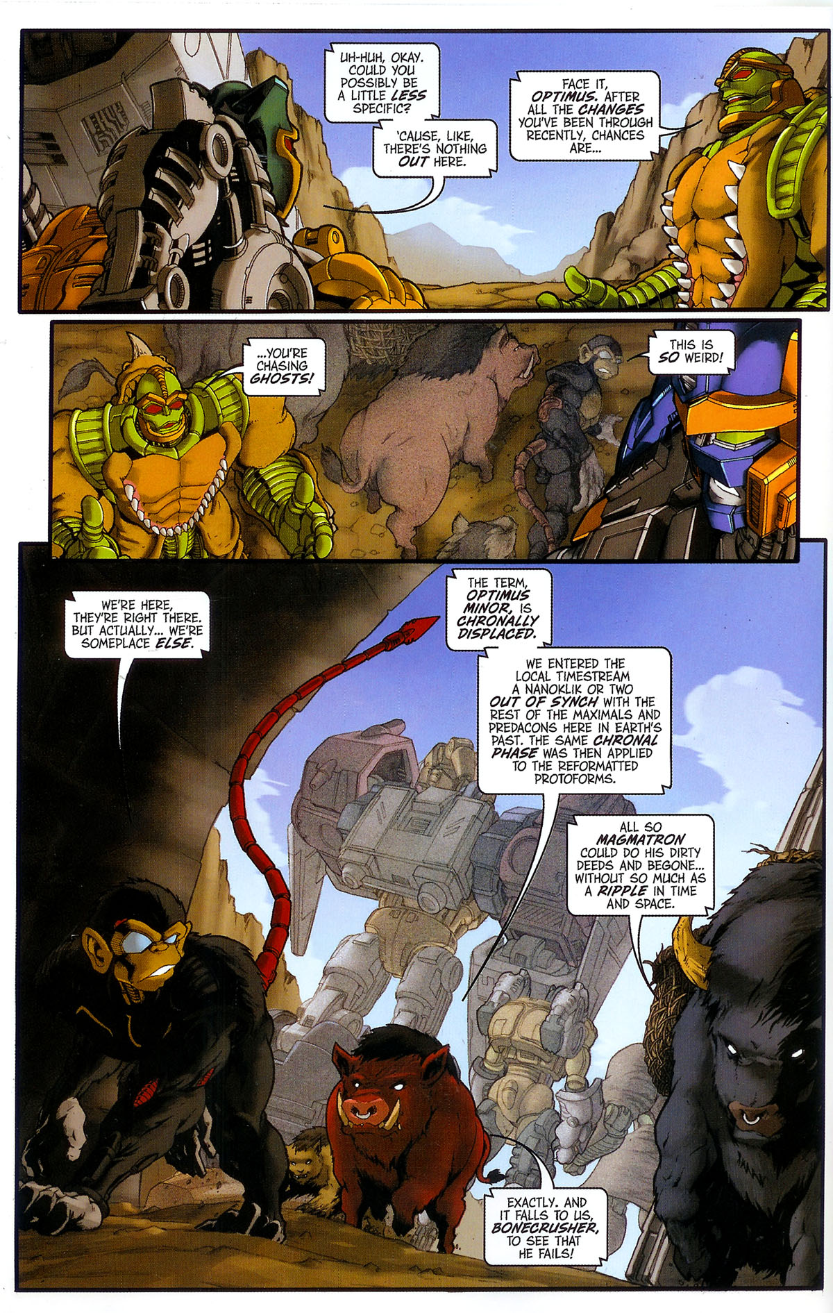 Read online Transformers, Beast Wars: The Gathering comic -  Issue #3 - 7