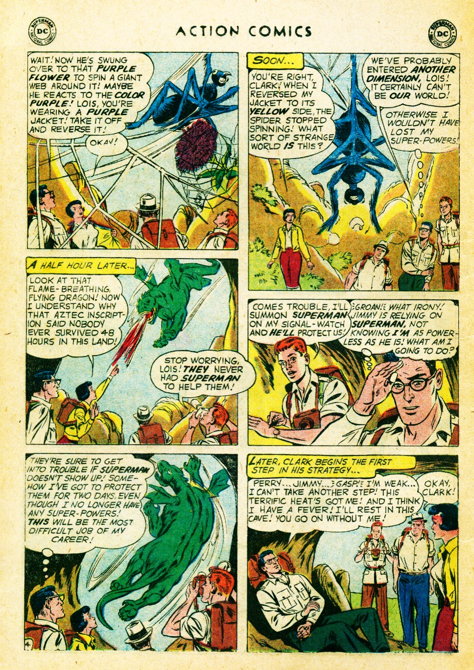 Read online Action Comics (1938) comic -  Issue #262 - 6