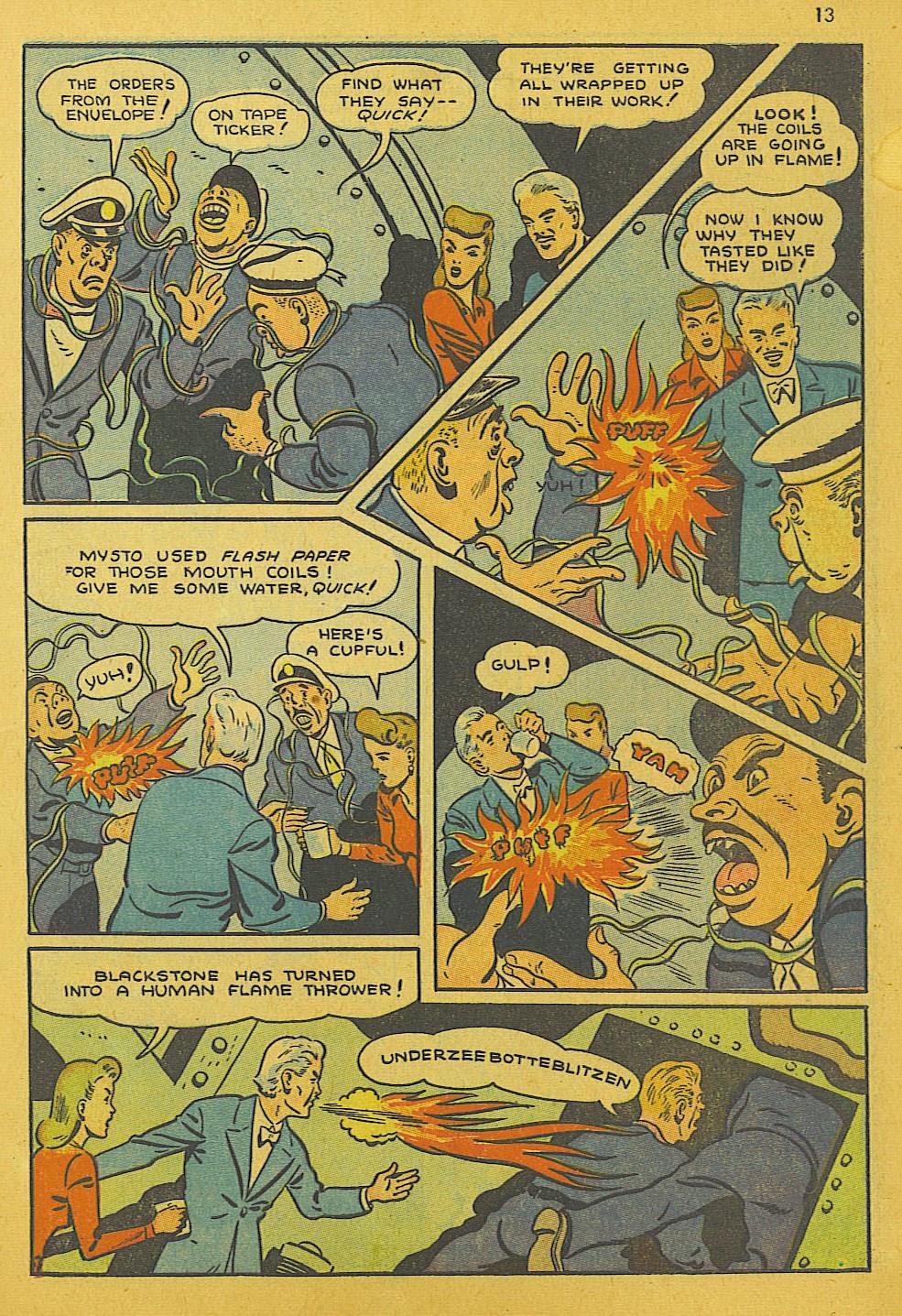 Read online Super-Magician Comics comic -  Issue #10 - 13