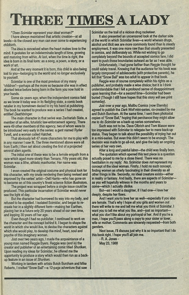 Scimidar (1988) issue 1 - Page 29