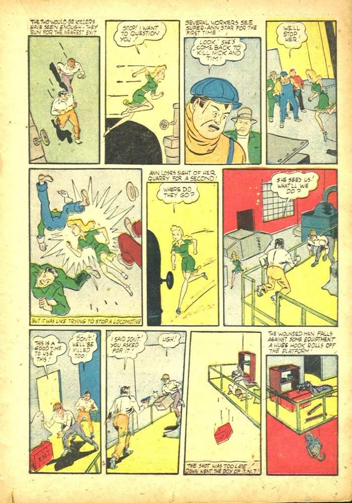 Read online Amazing Man Comics comic -  Issue #25 - 27