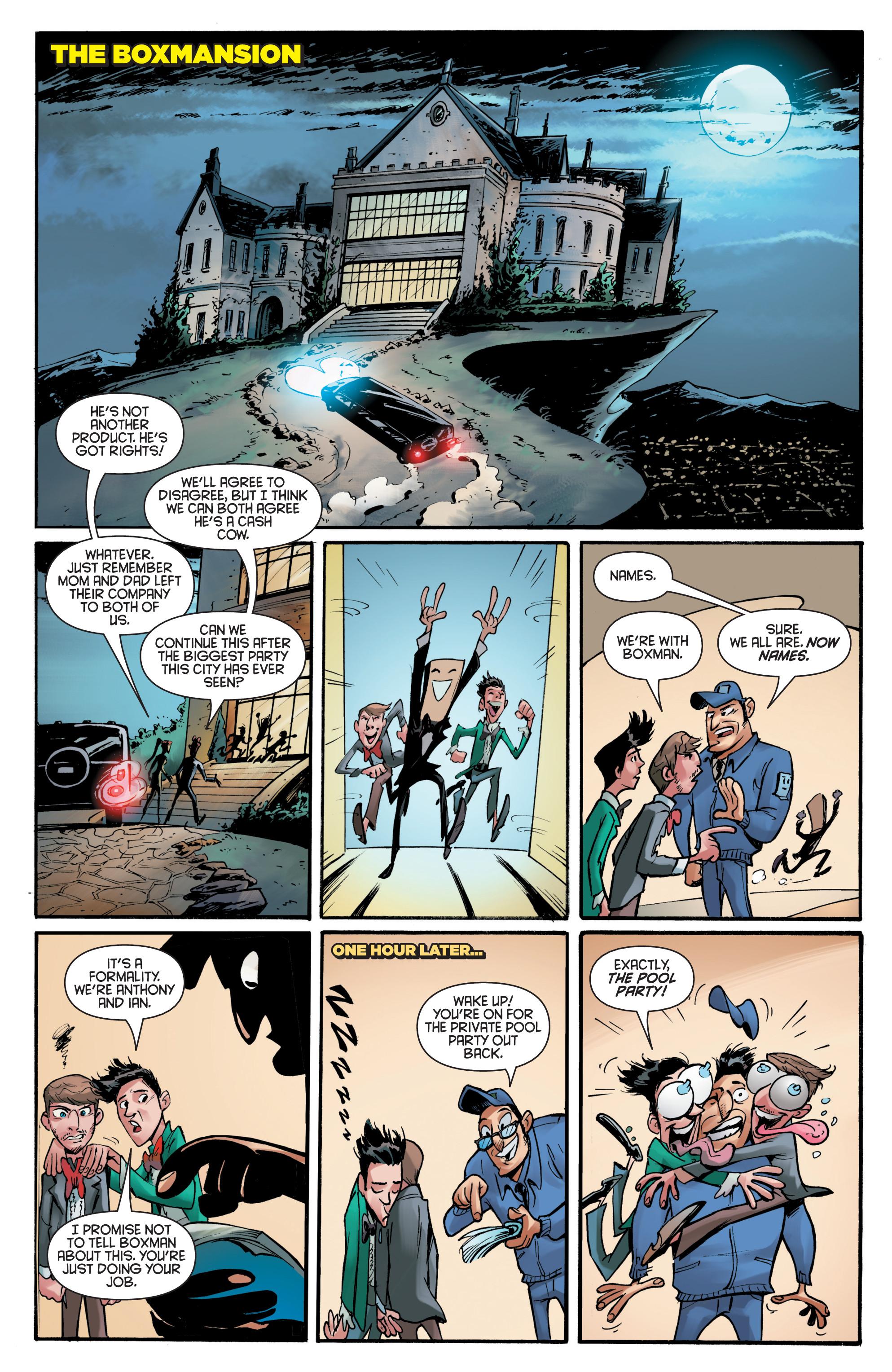 Read online Smosh comic -  Issue #5 - 7