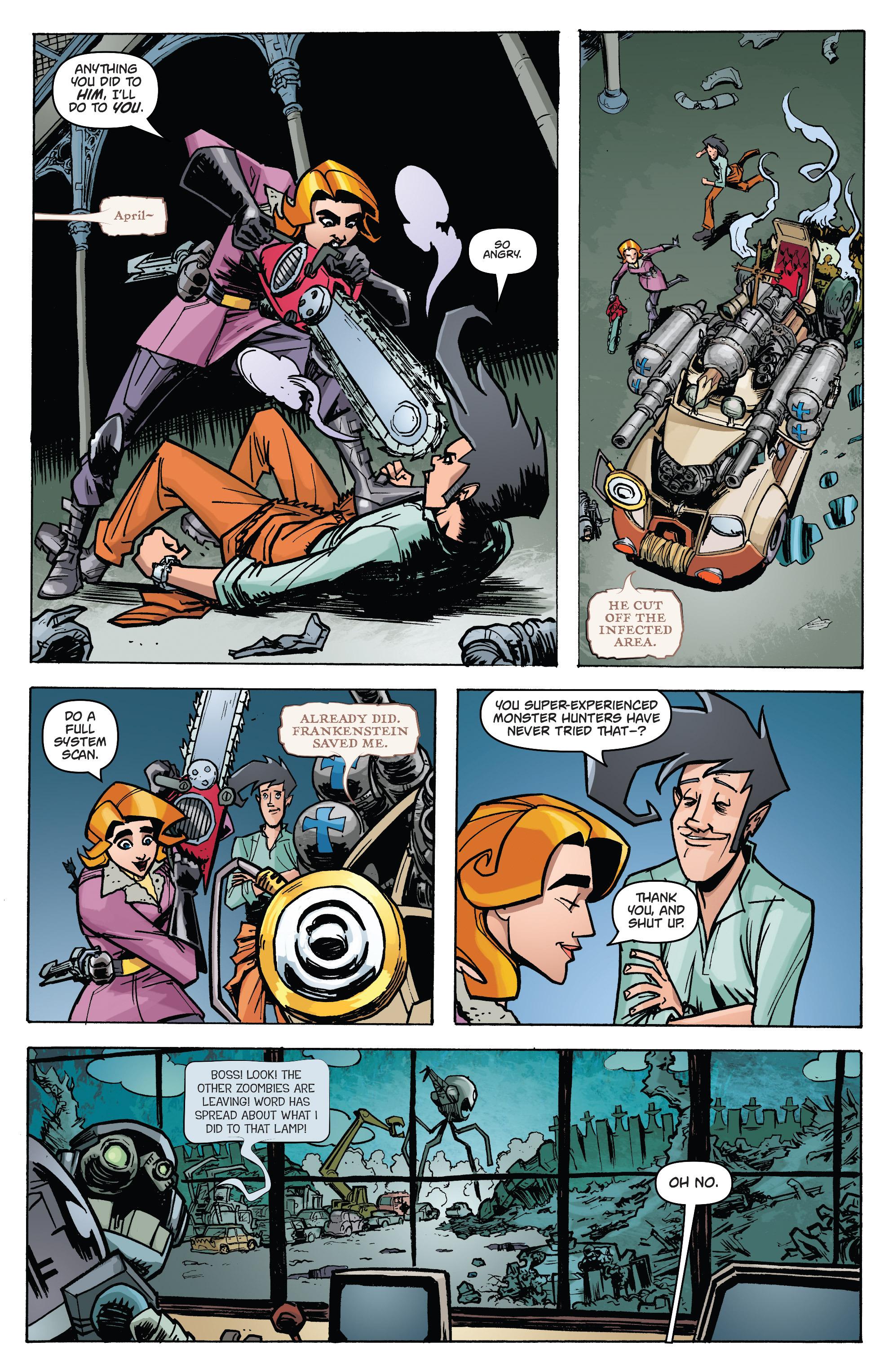 Read online Monster Motors: The Curse of Minivan Helsing comic -  Issue #2 - 13