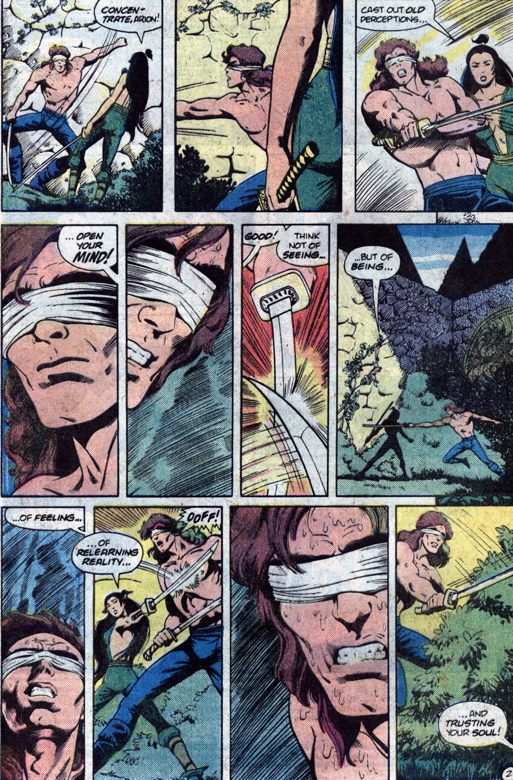 Read online Arion, Lord of Atlantis comic -  Issue #12 - 4