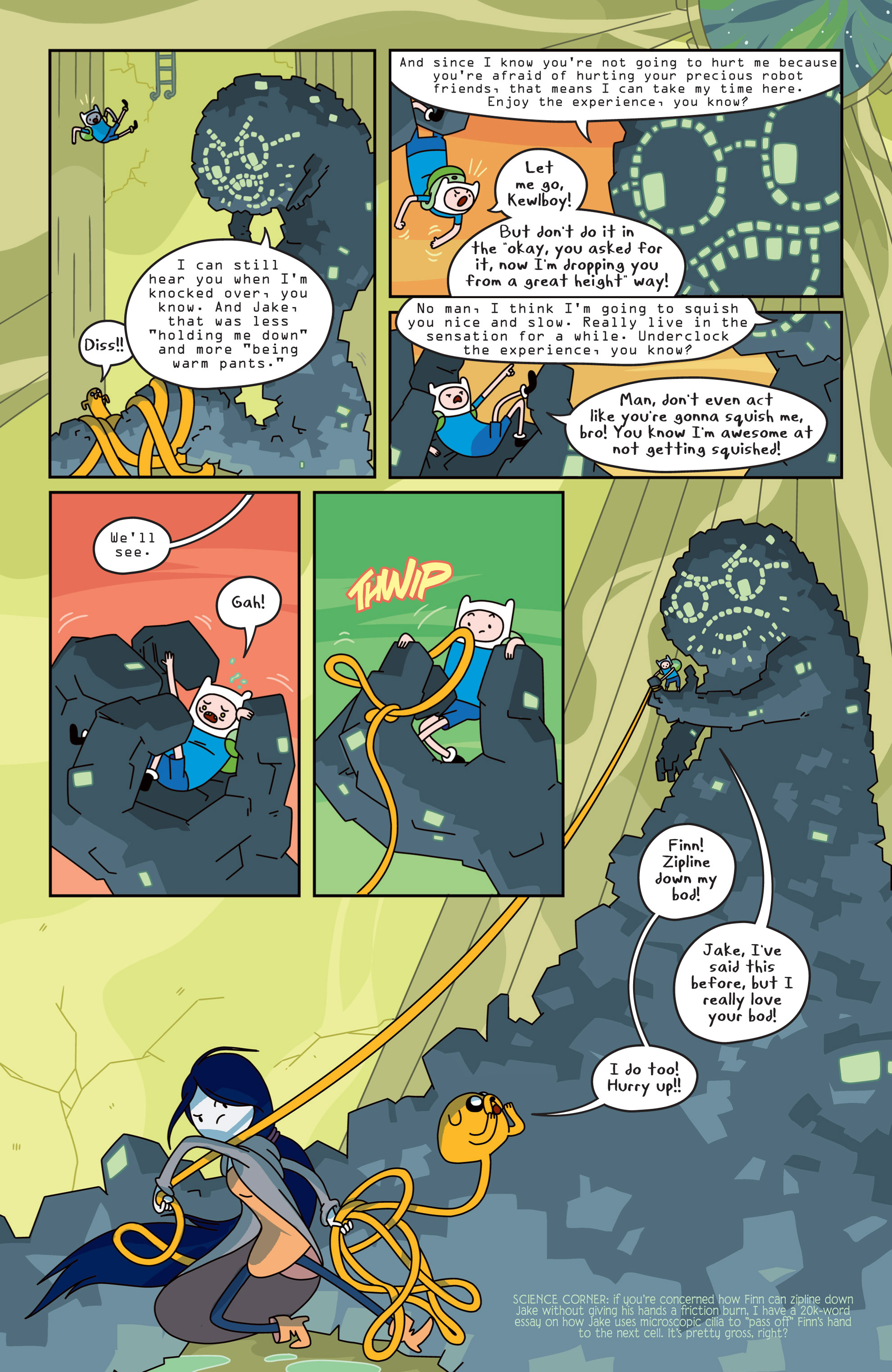 Read online Adventure Time comic -  Issue #14 - 7