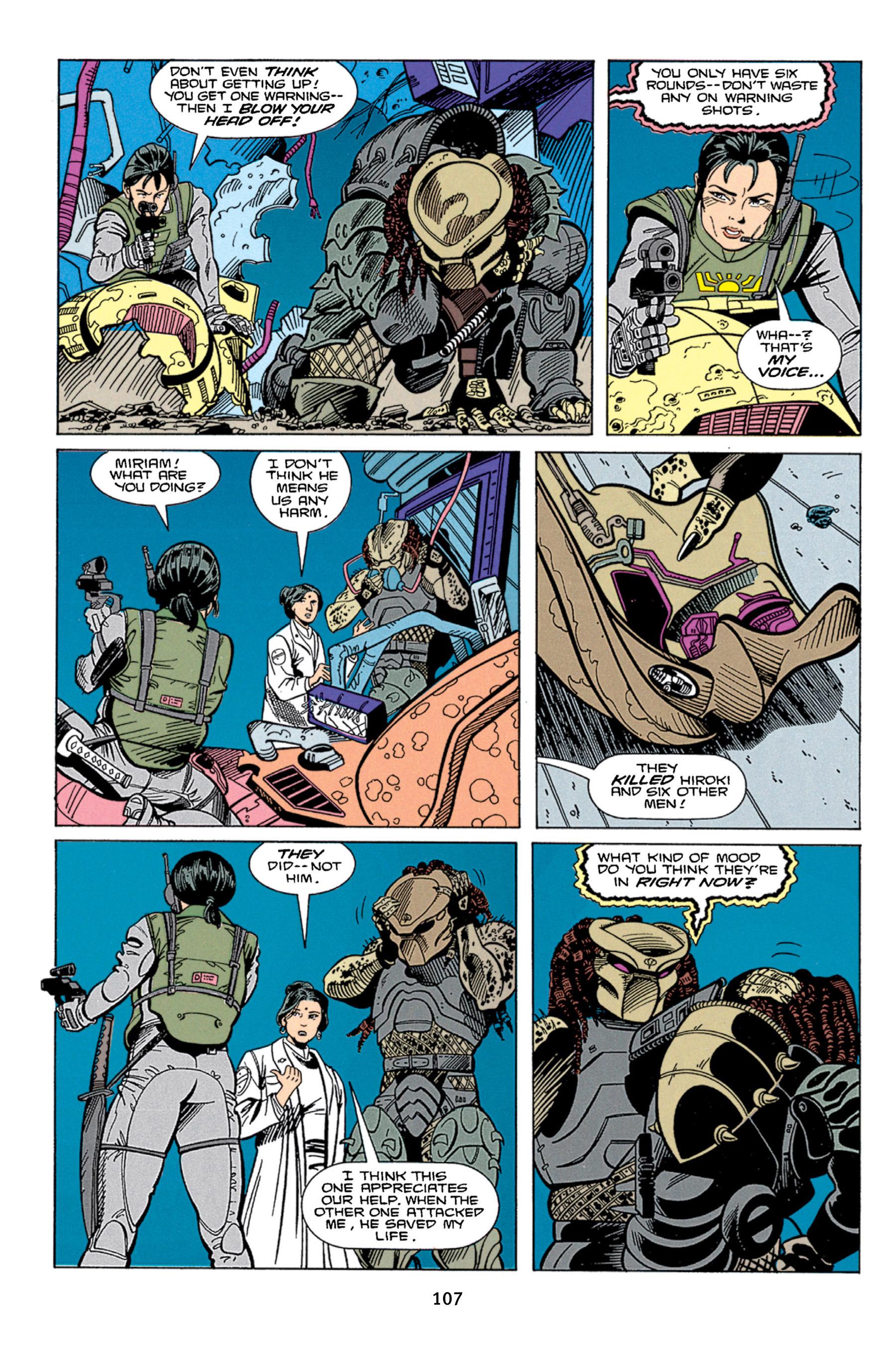 Read online Aliens vs. Predator Omnibus comic -  Issue # _TPB 1 Part 2 - 6
