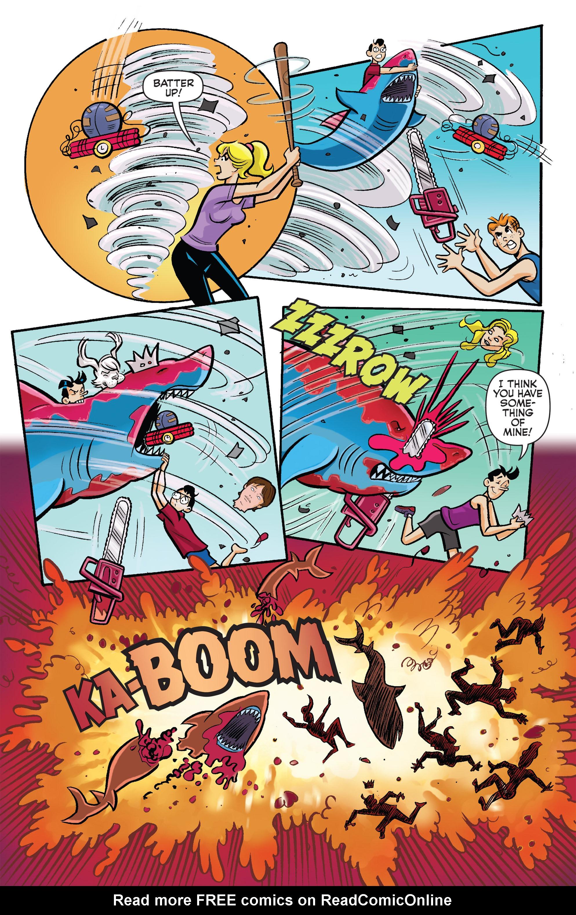 Read online Archie vs. Sharknado comic -  Issue #Archie vs. Sharknado Full - 38