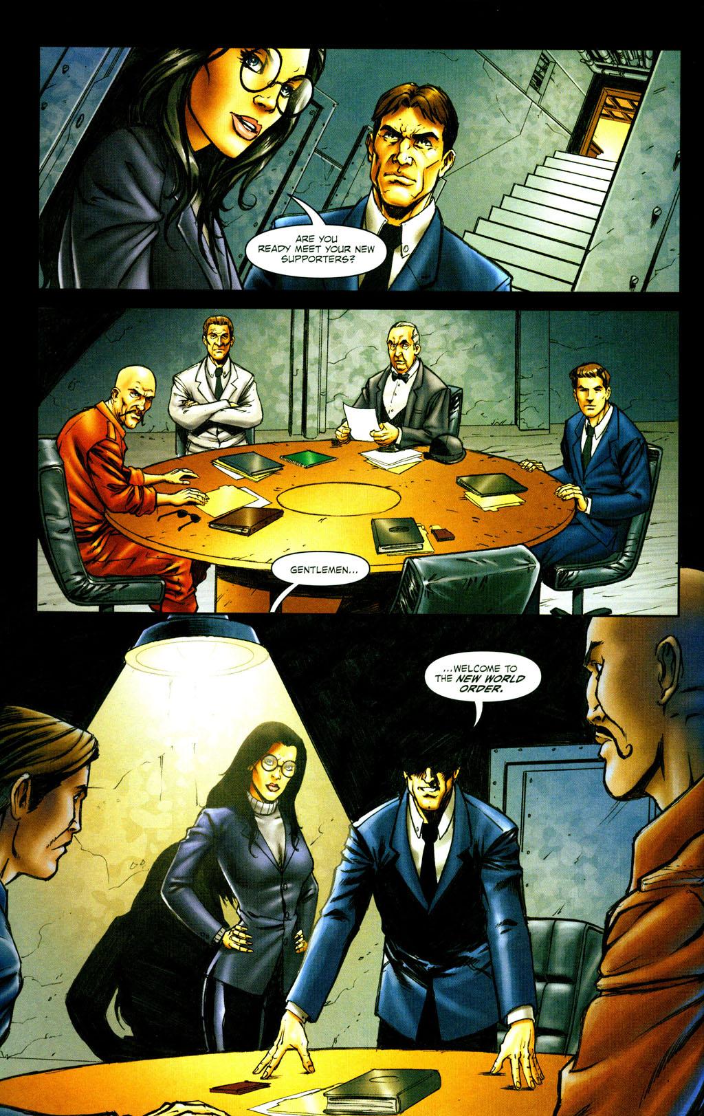 Read online Snake Eyes: Declassified comic -  Issue #6 - 7