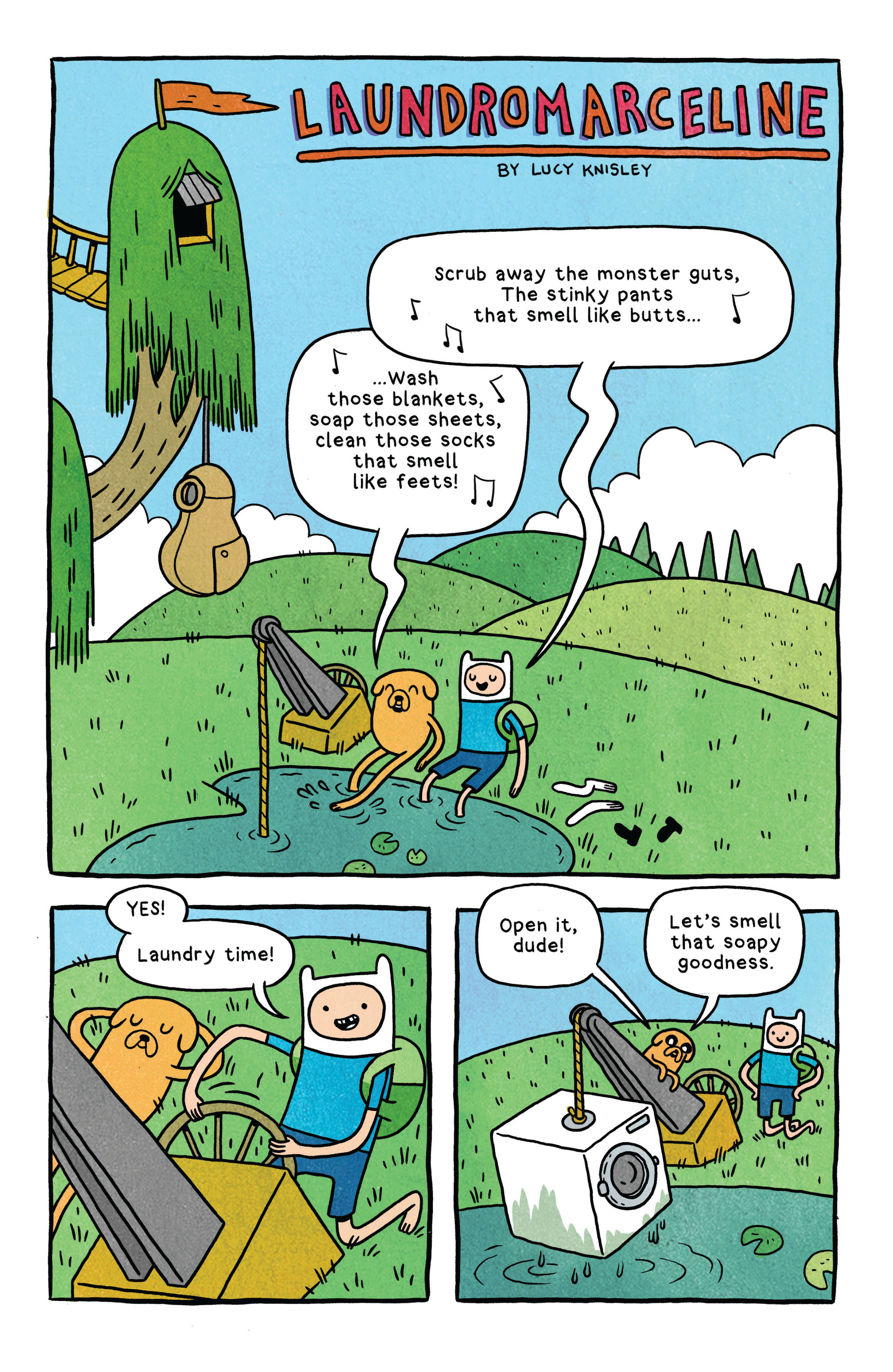 Read online Adventure Time comic -  Issue #2 - 21