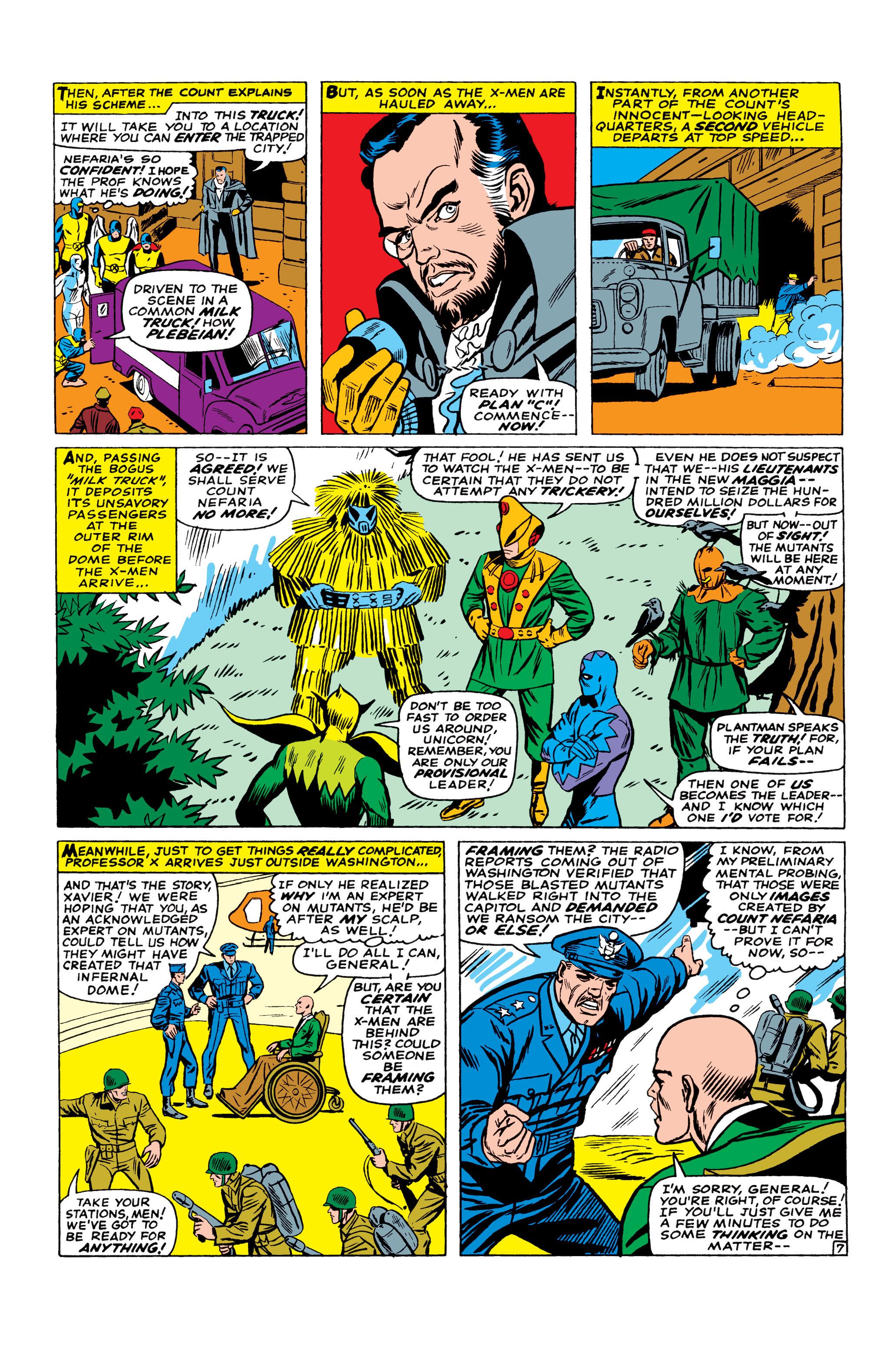 Read online Uncanny X-Men (1963) comic -  Issue #23 - 8