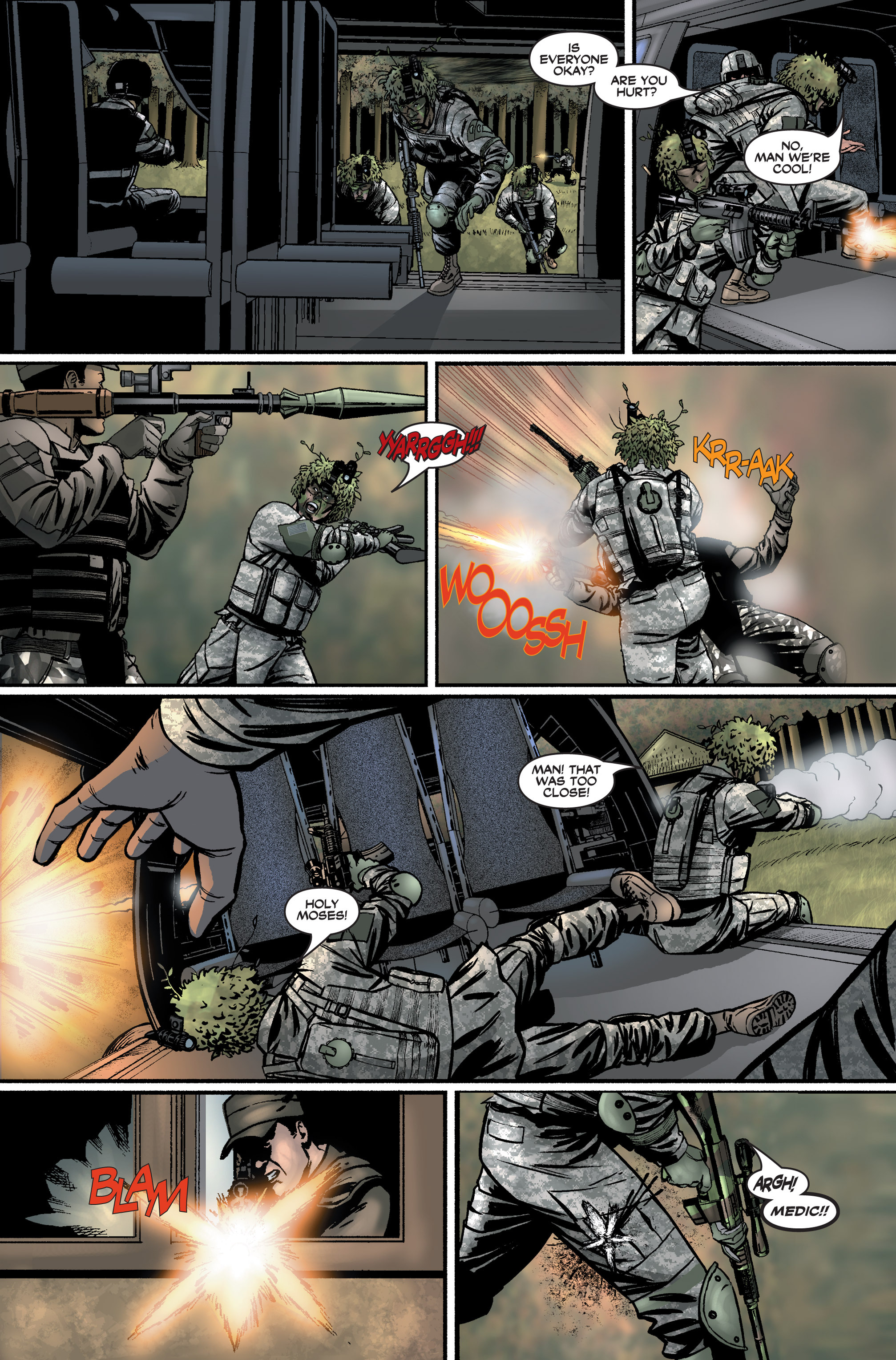 Read online America's Army comic -  Issue #2 - 23