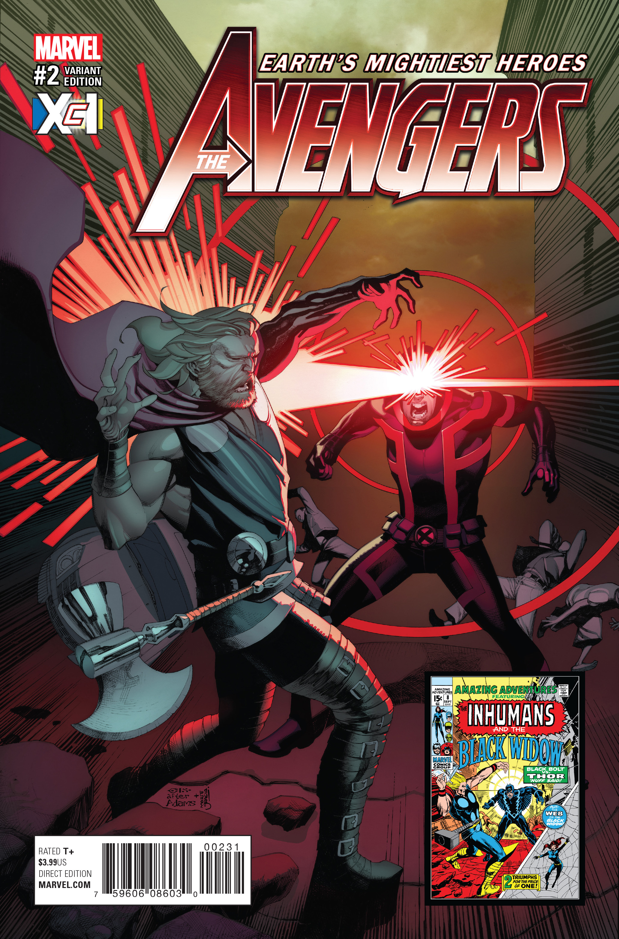 Read online Avengers (2016) comic -  Issue #2 - 3