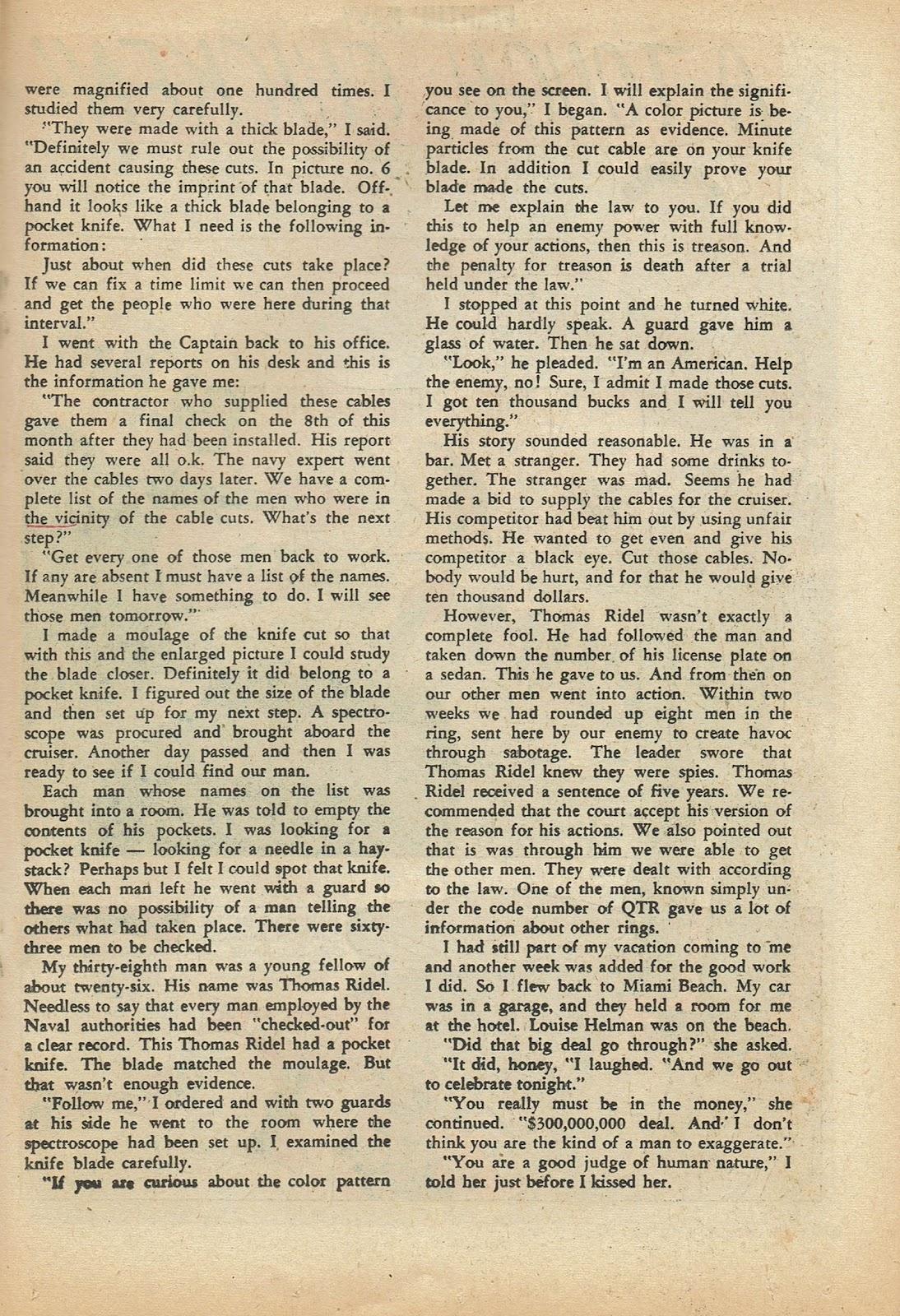 Read online Fightin' Navy comic -  Issue #97 - 19