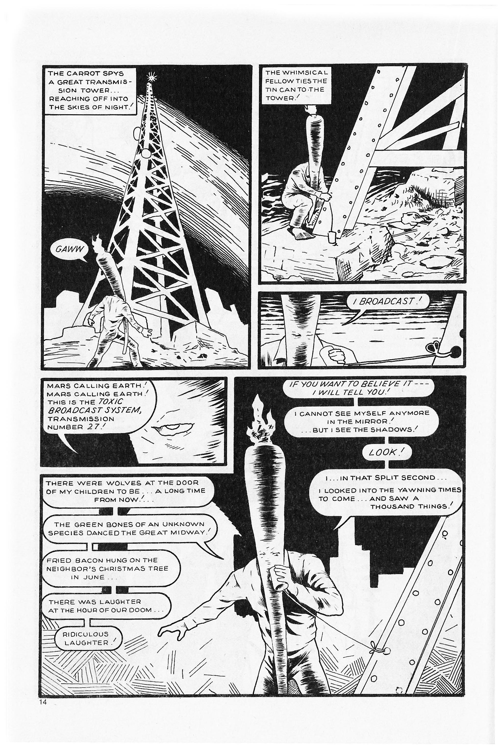 Read online Flaming Carrot Comics (1984) comic -  Issue #5 - 16