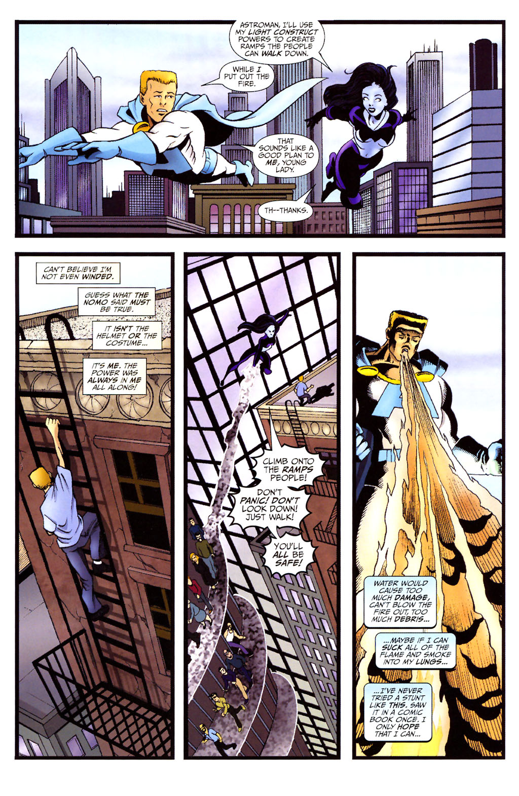 Read online ShadowHawk (2005) comic -  Issue #12 - 16