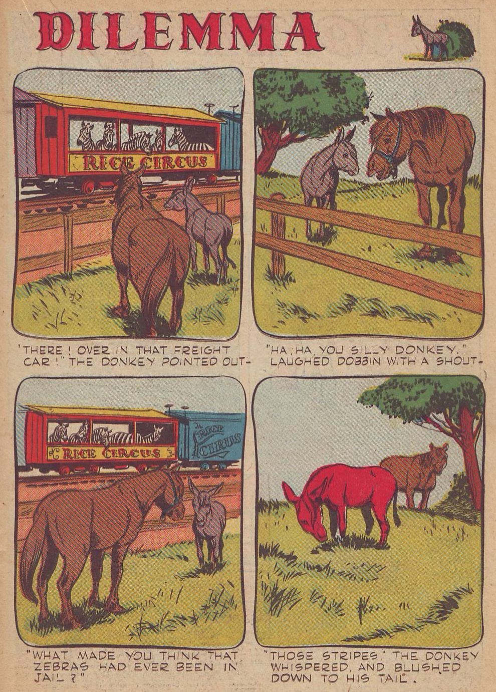 Read online Animal Comics comic -  Issue #23 - 27