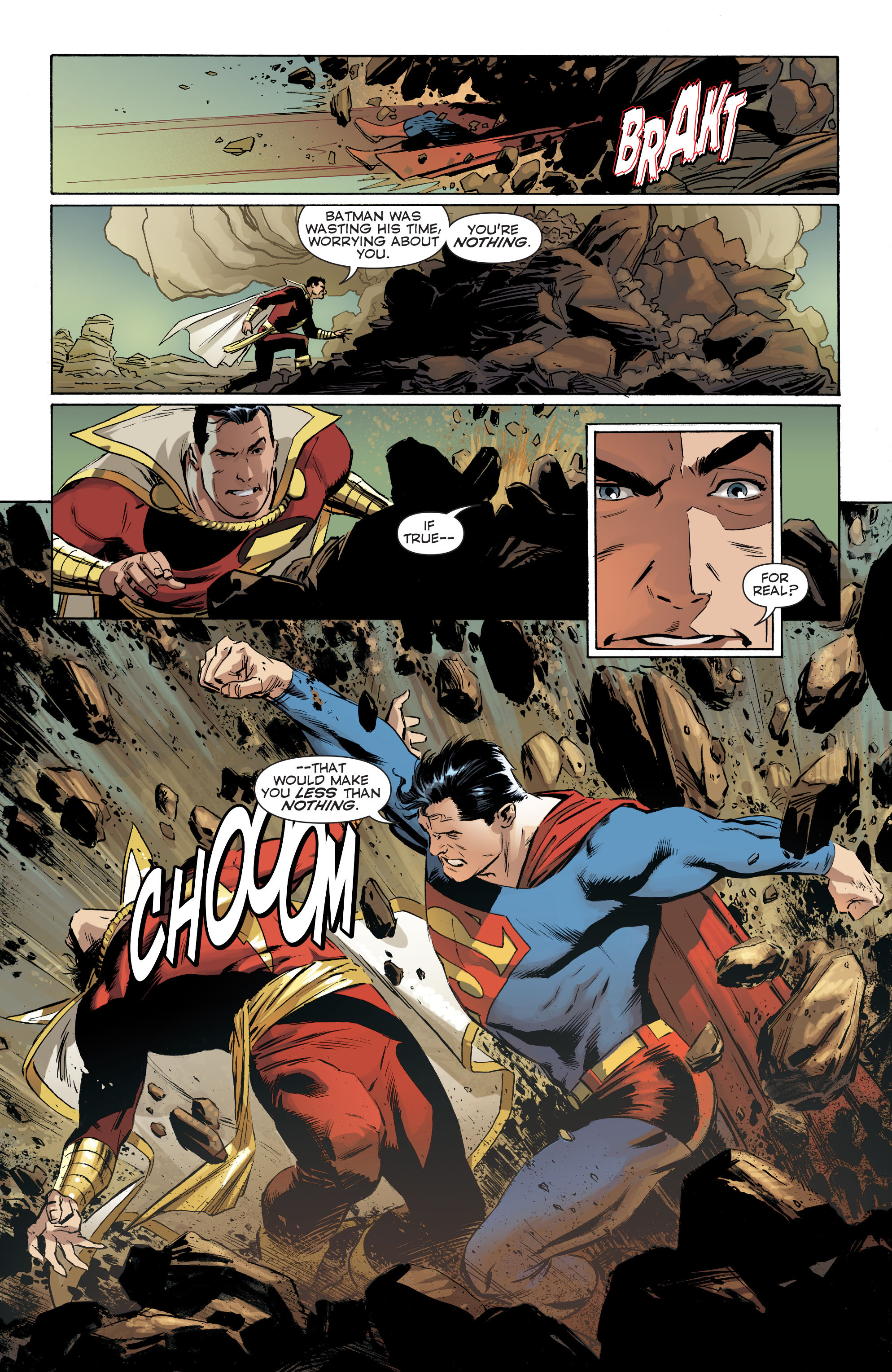 Read online Convergence Superman comic -  Issue #1 - 18