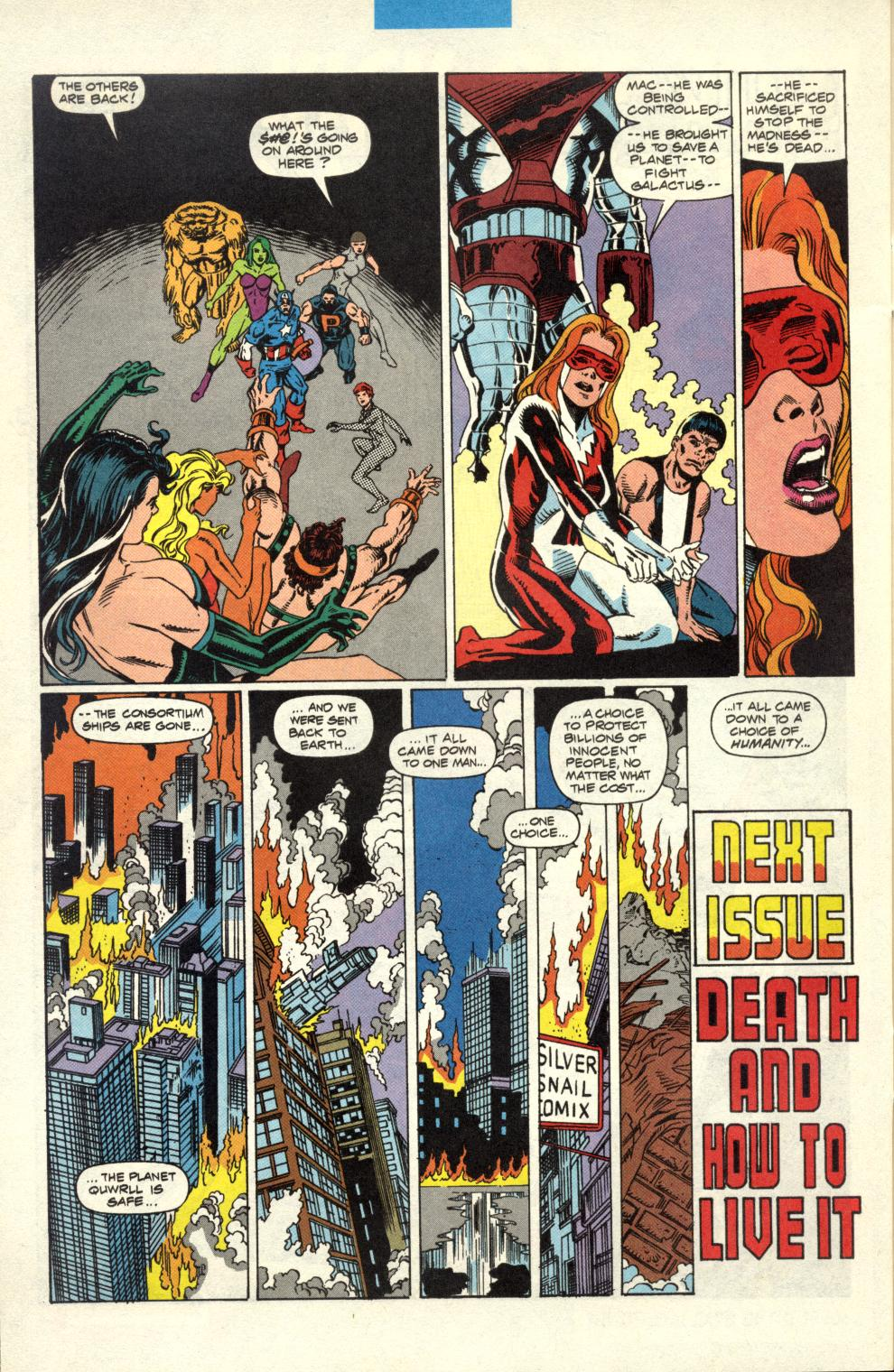 Read online Alpha Flight (1983) comic -  Issue #100 - 38
