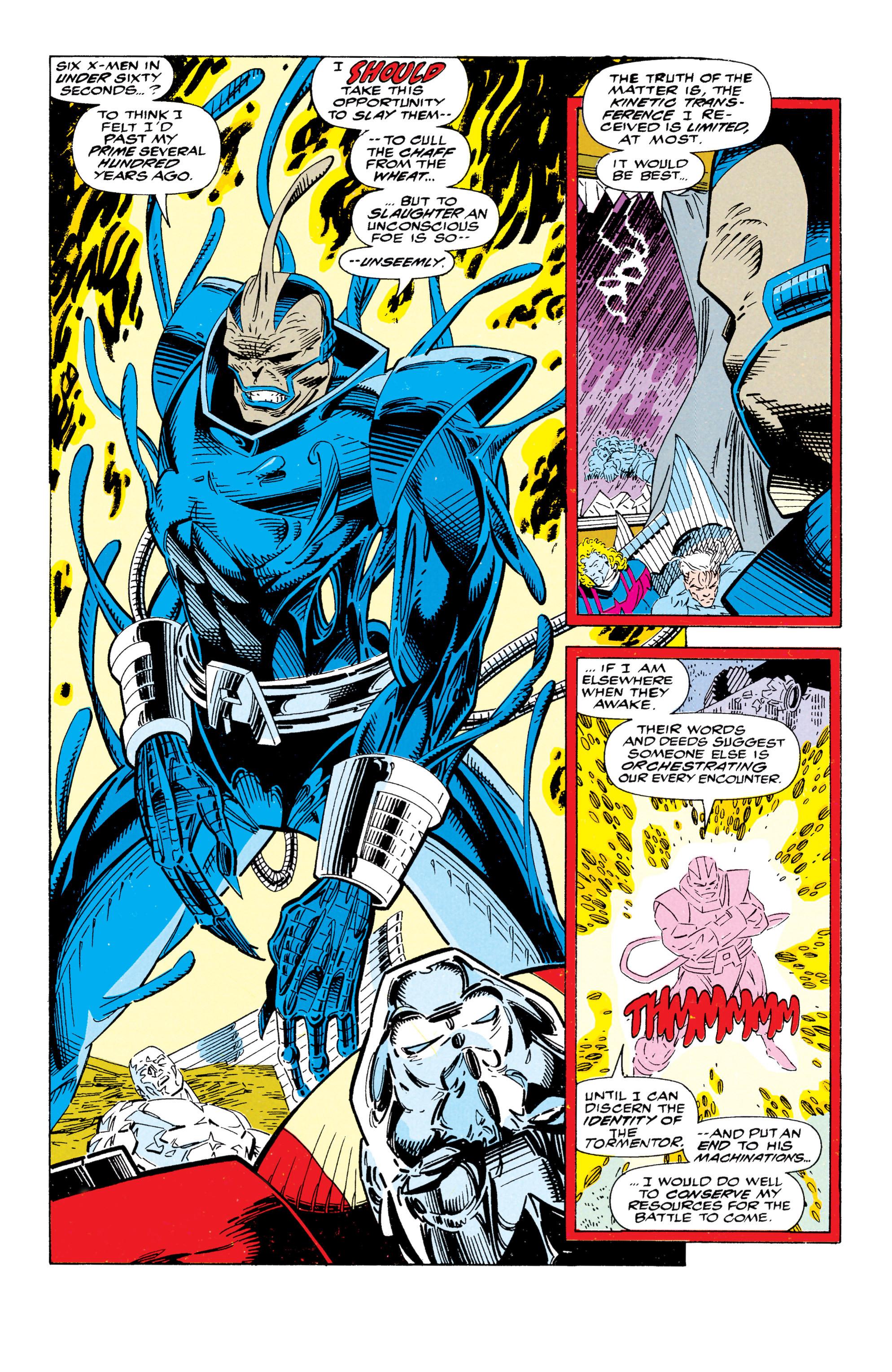 Read online Uncanny X-Men (1963) comic -  Issue #295 - 19