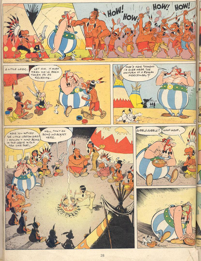 Read online Asterix comic -  Issue #22 - 25