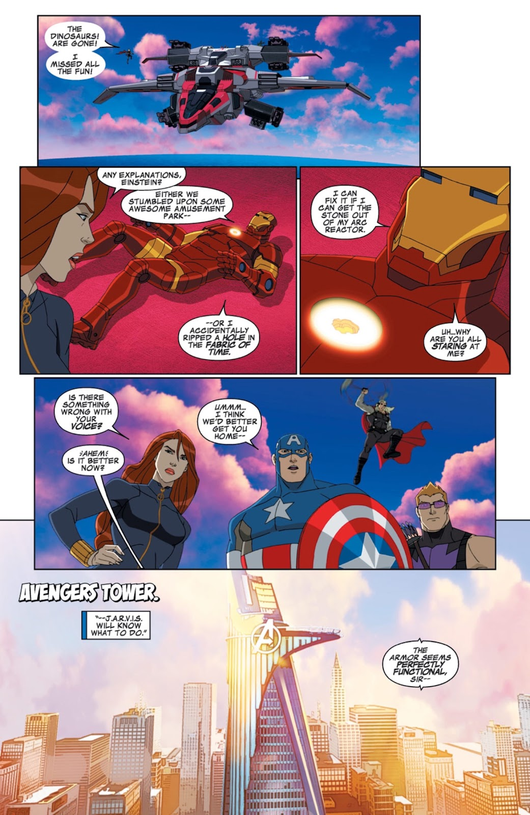 Read online Marvel Universe Avengers Assemble Season 2 comic -  Issue #6 - 7