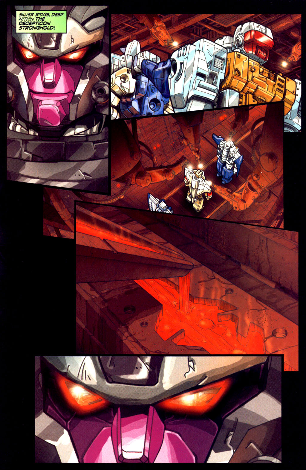 Read online Transformers Armada comic -  Issue #6 - 16