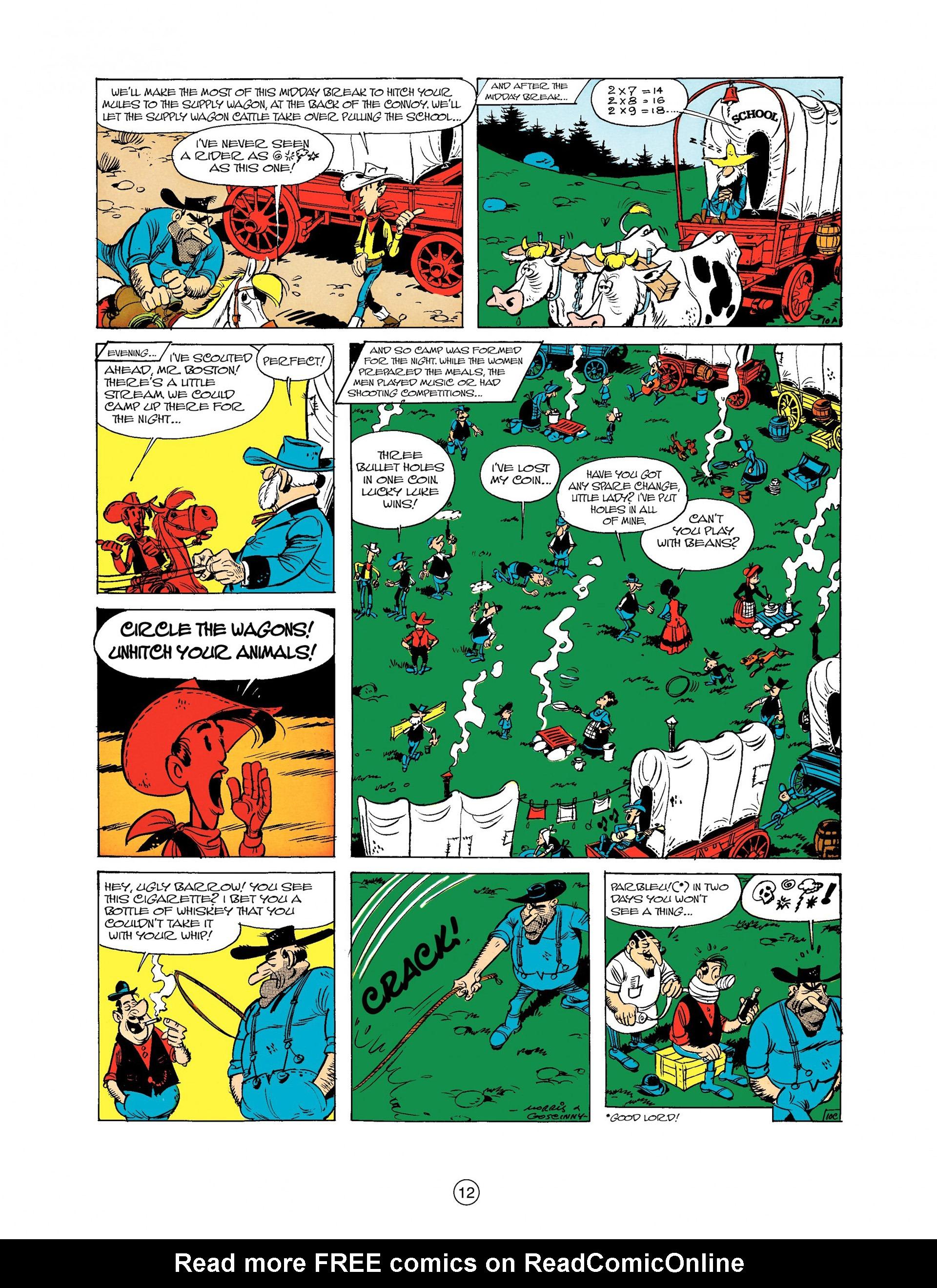 Read online A Lucky Luke Adventure comic -  Issue #9 - 12