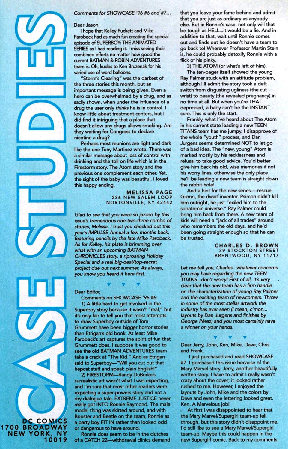 Read online Showcase '96 comic -  Issue #10 - 40