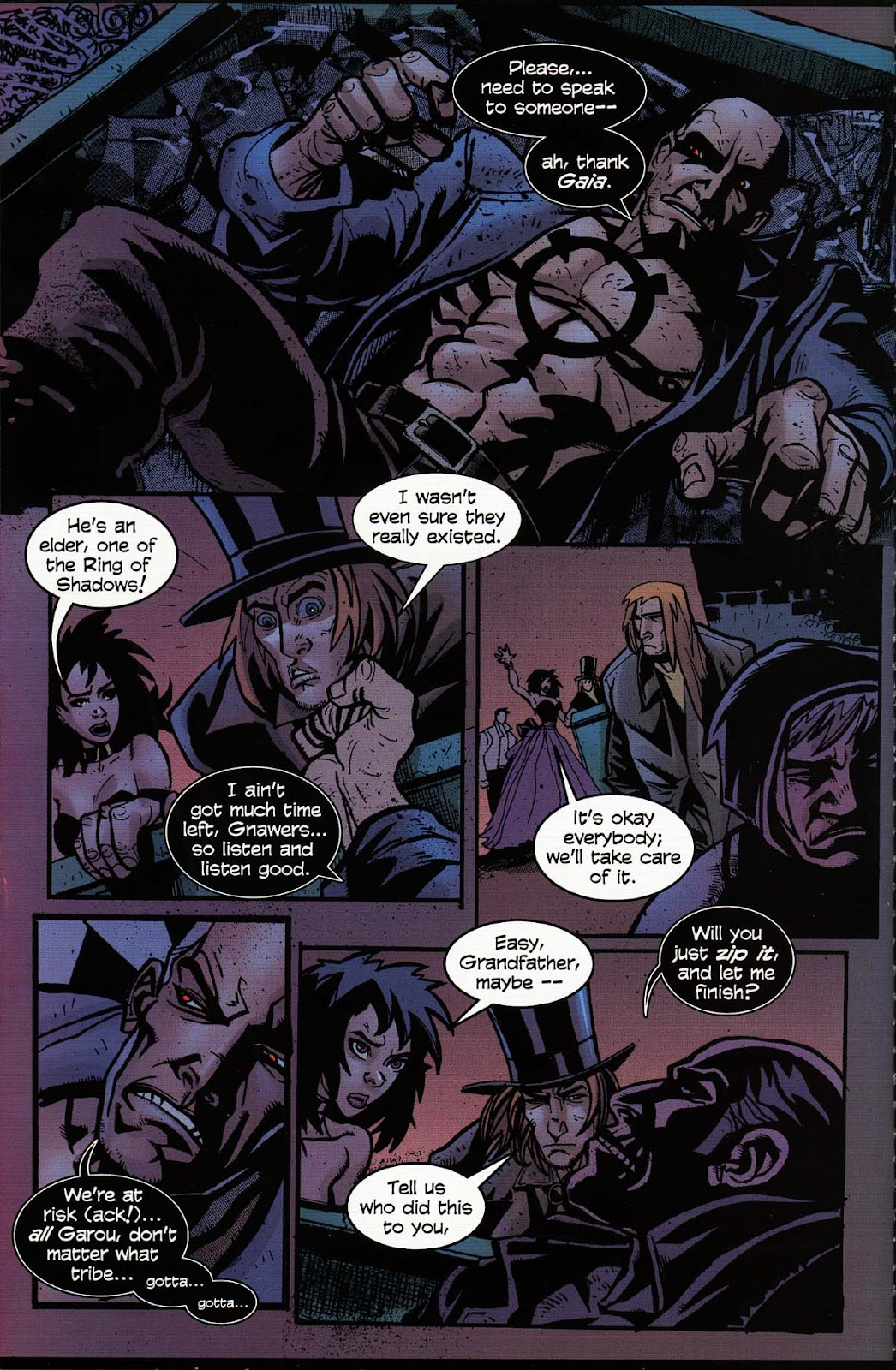 Read online Werewolf the Apocalypse comic -  Issue # Bone Gnawers - 10