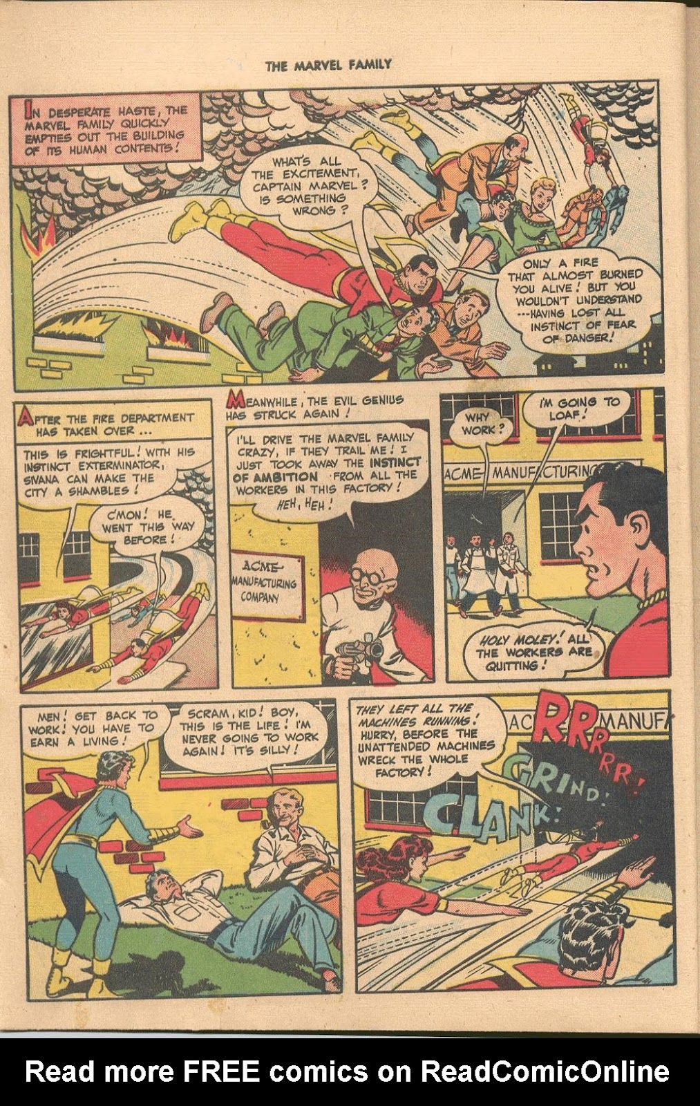 The Marvel Family issue 38 - Page 8