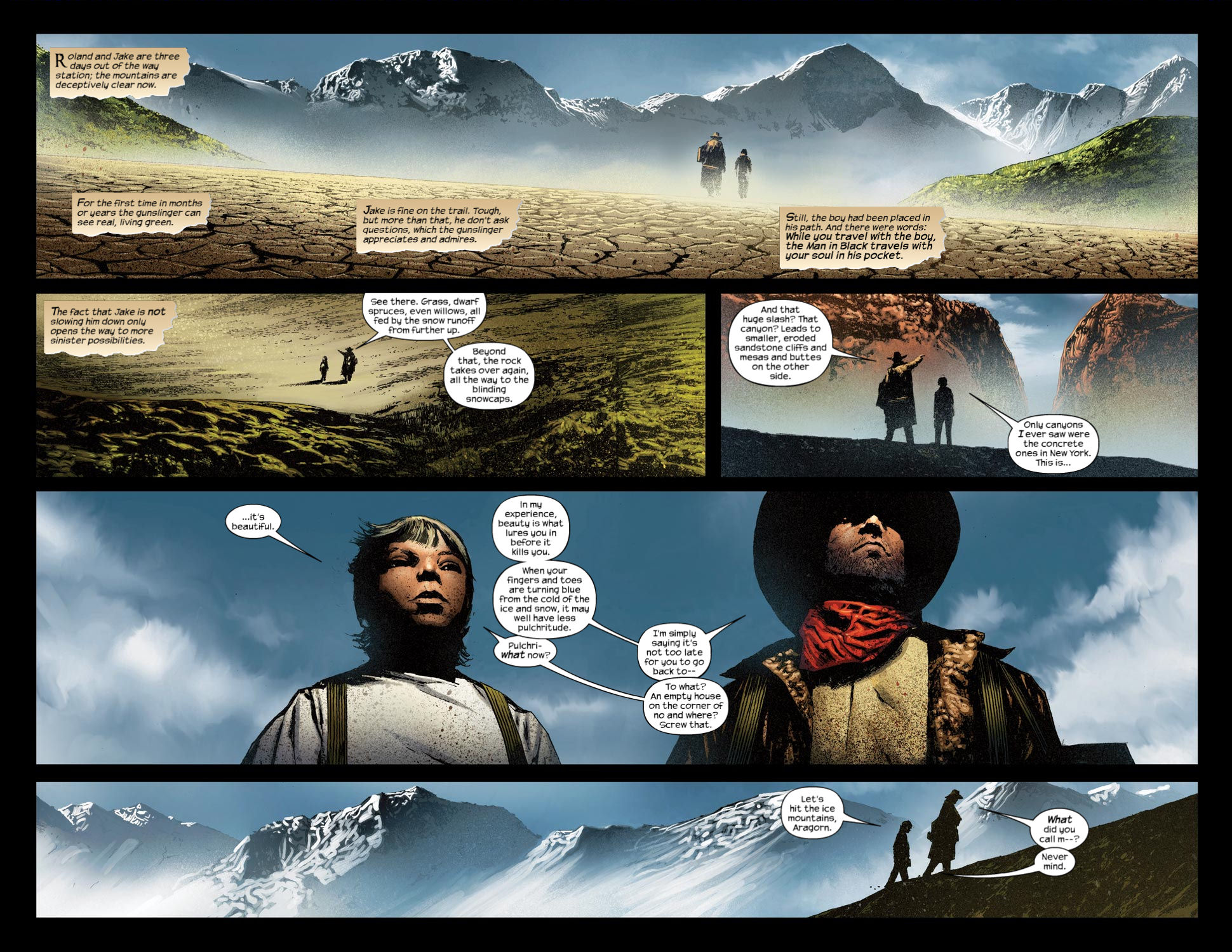 Read online Dark Tower: The Gunslinger - The Way Station comic -  Issue #4 - 4