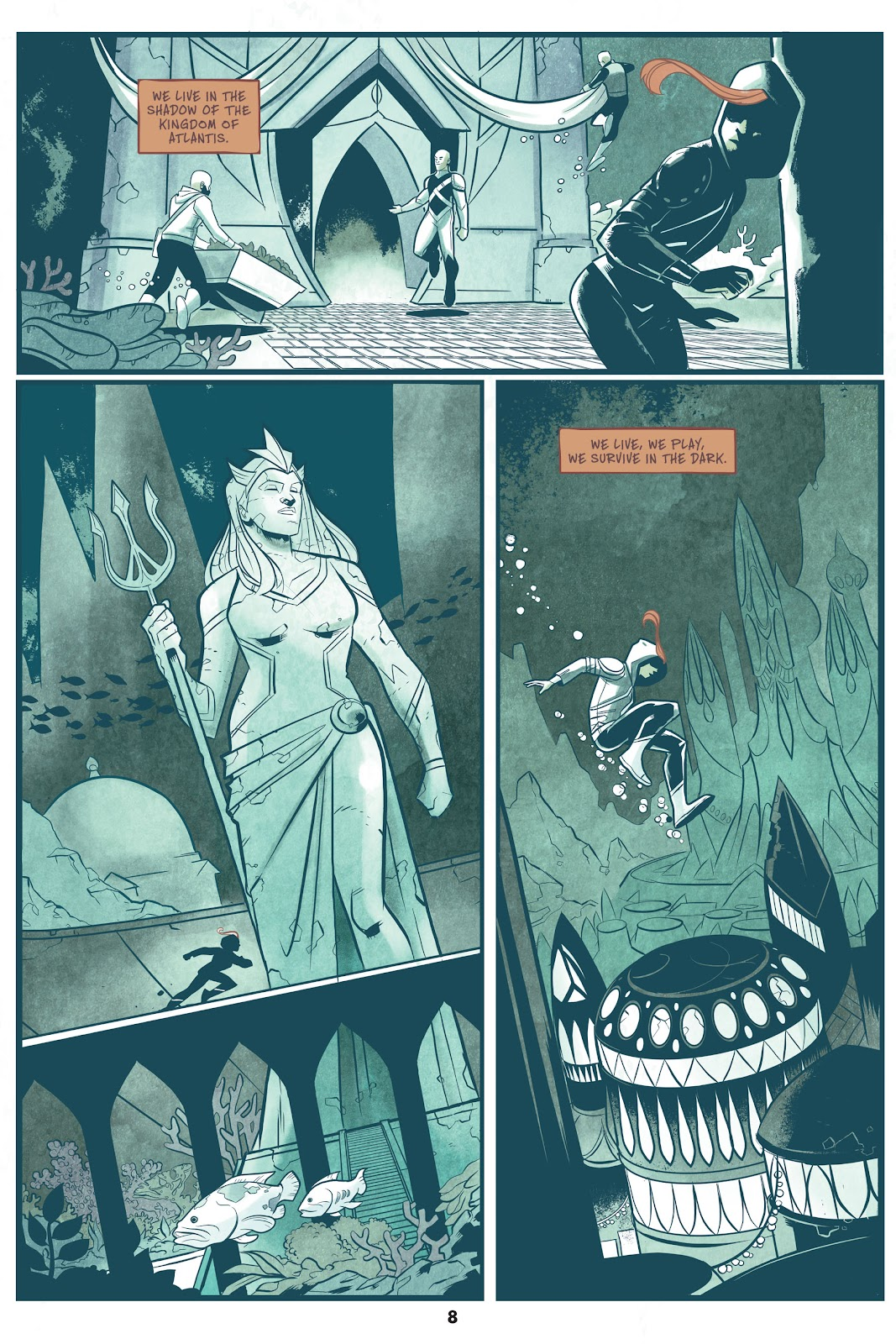 Read online Mera: Tidebreaker comic -  Issue # TPB (Part 1) - 8