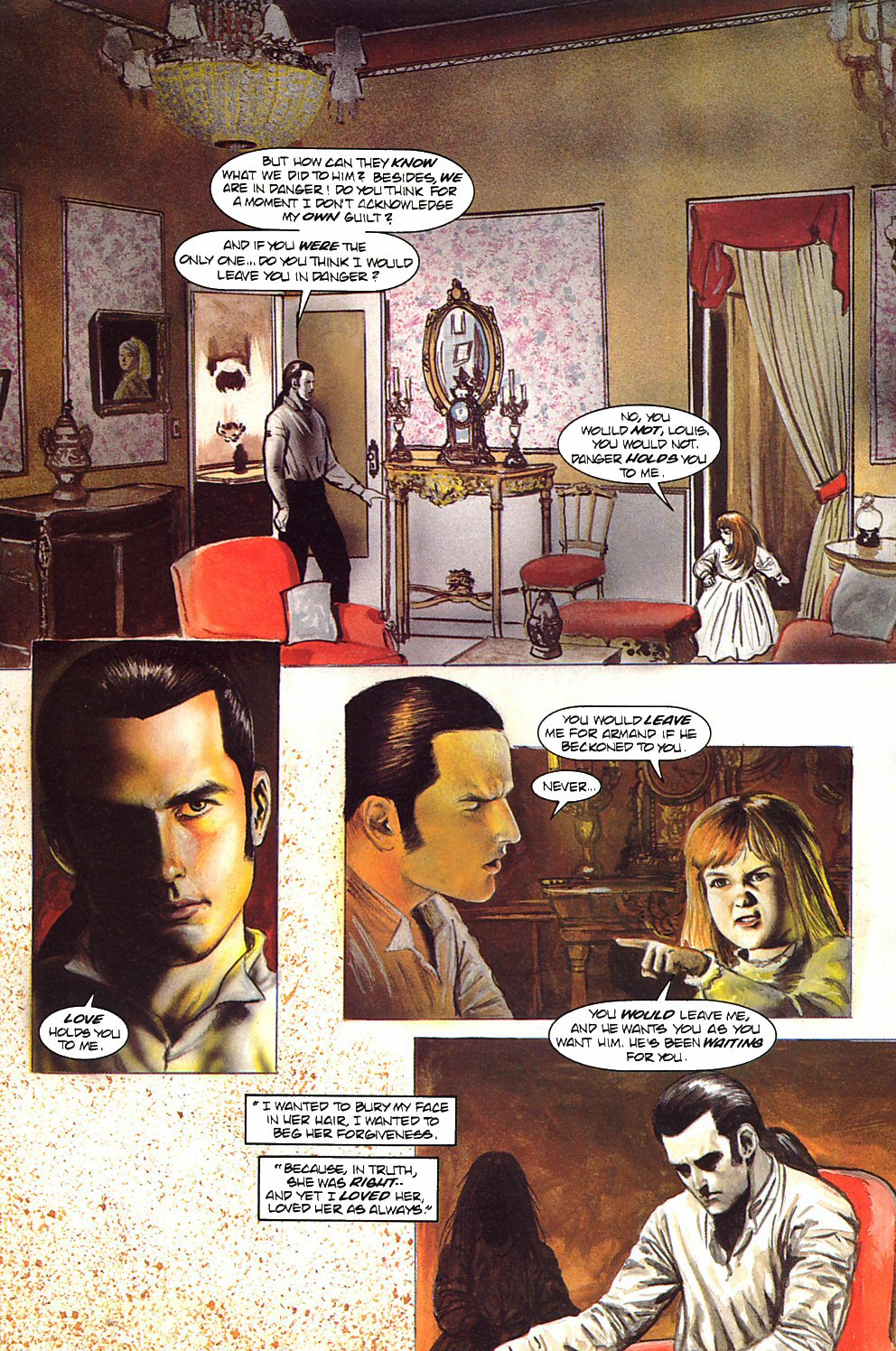 Read online Anne Rice's Interview with the Vampire comic -  Issue #9 - 6
