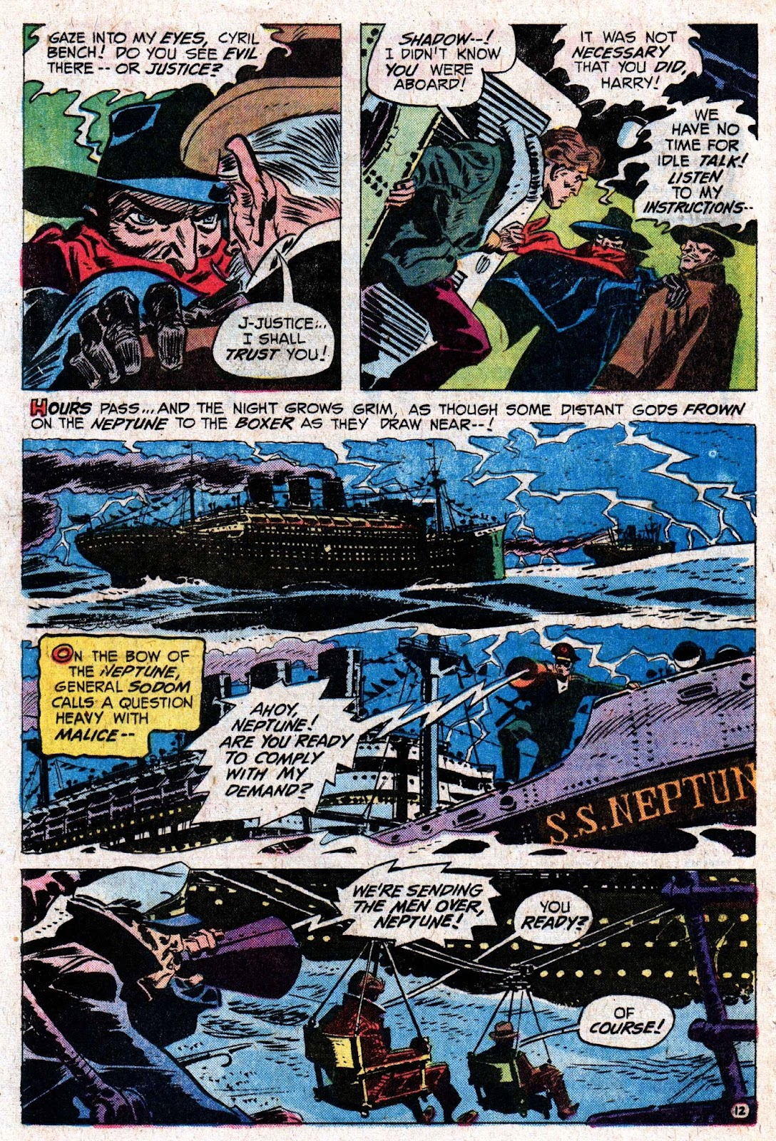 The Shadow (1973) issue 5 - Page 19