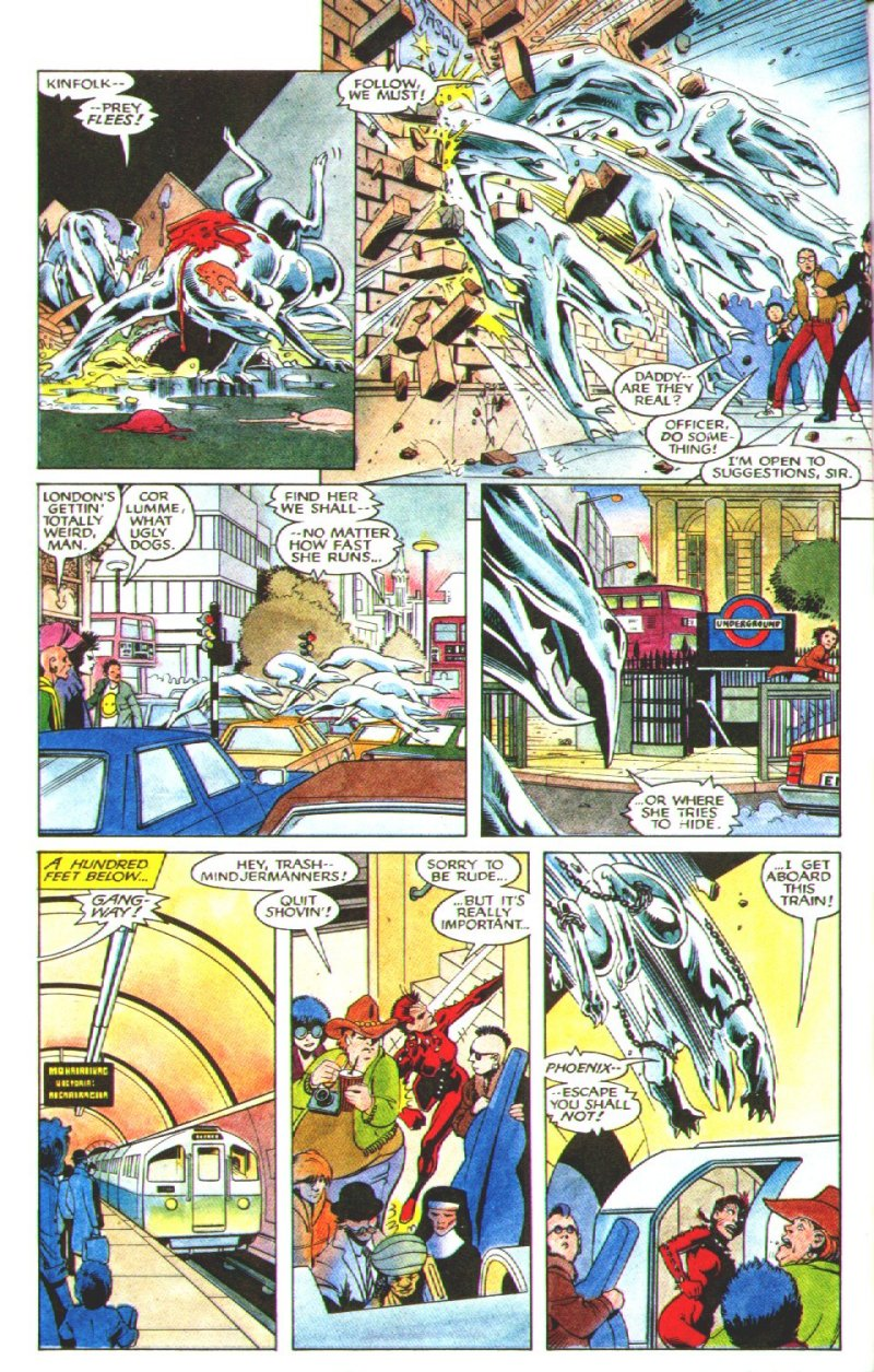 Read online Excalibur: The Sword is Drawn comic -  Issue # Full - 29