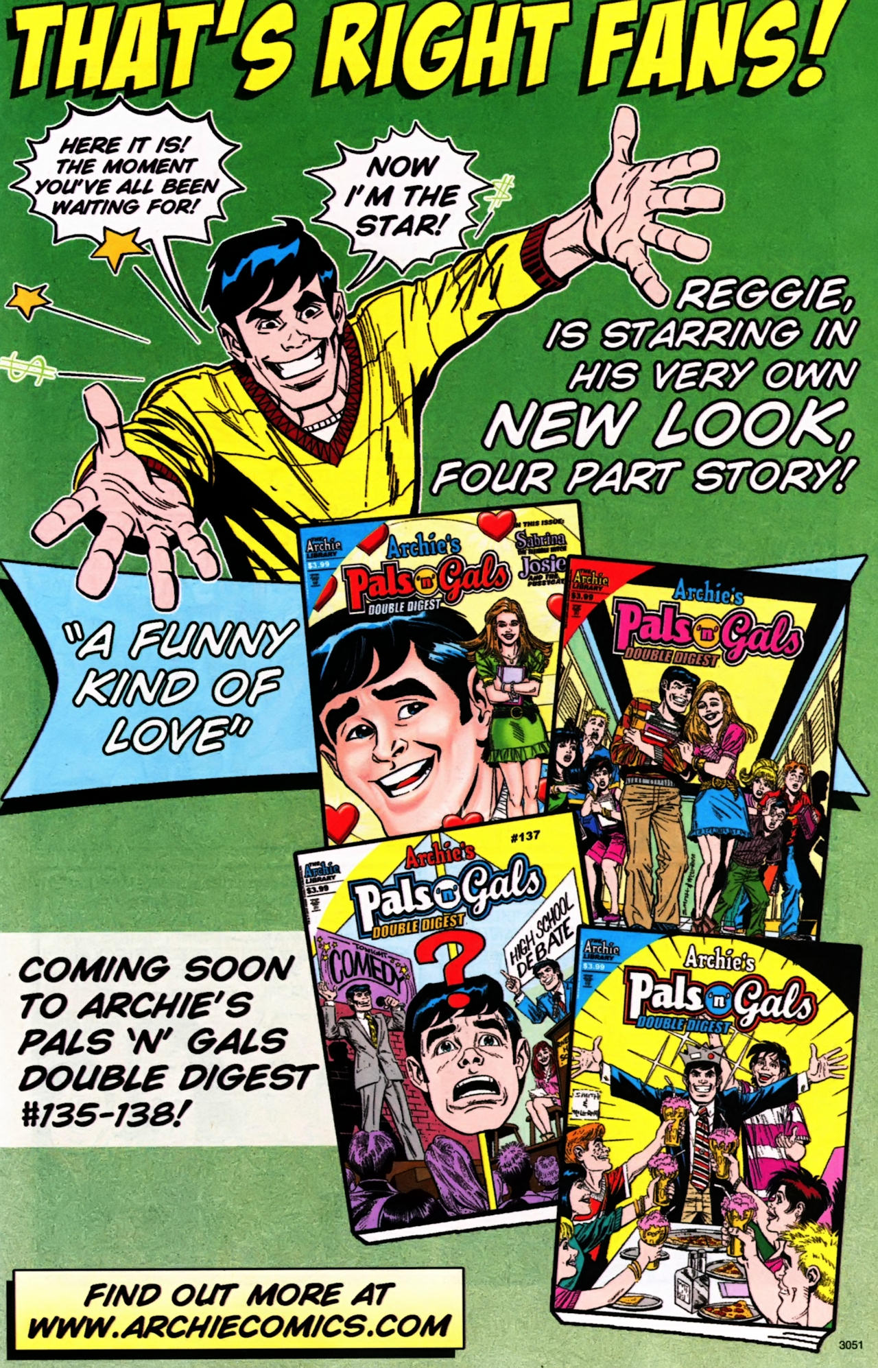 Read online Archie (1960) comic -  Issue #599 - 7