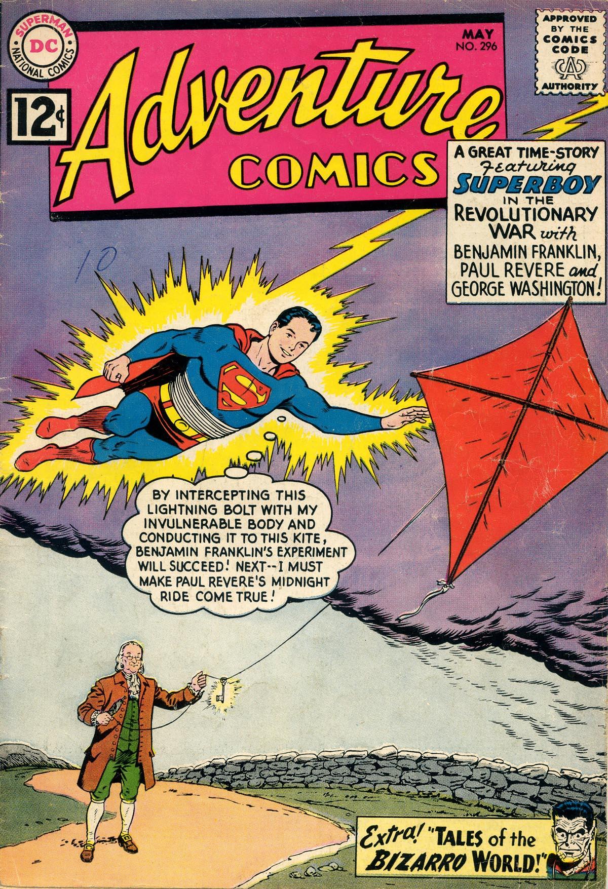 Read online Adventure Comics (1938) comic -  Issue #296 - 1