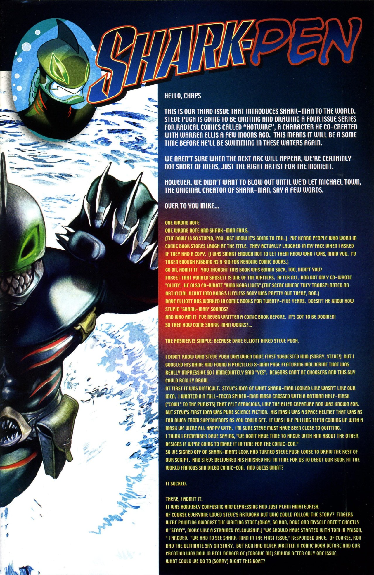 Read online Shark-Man comic -  Issue #3 - 24