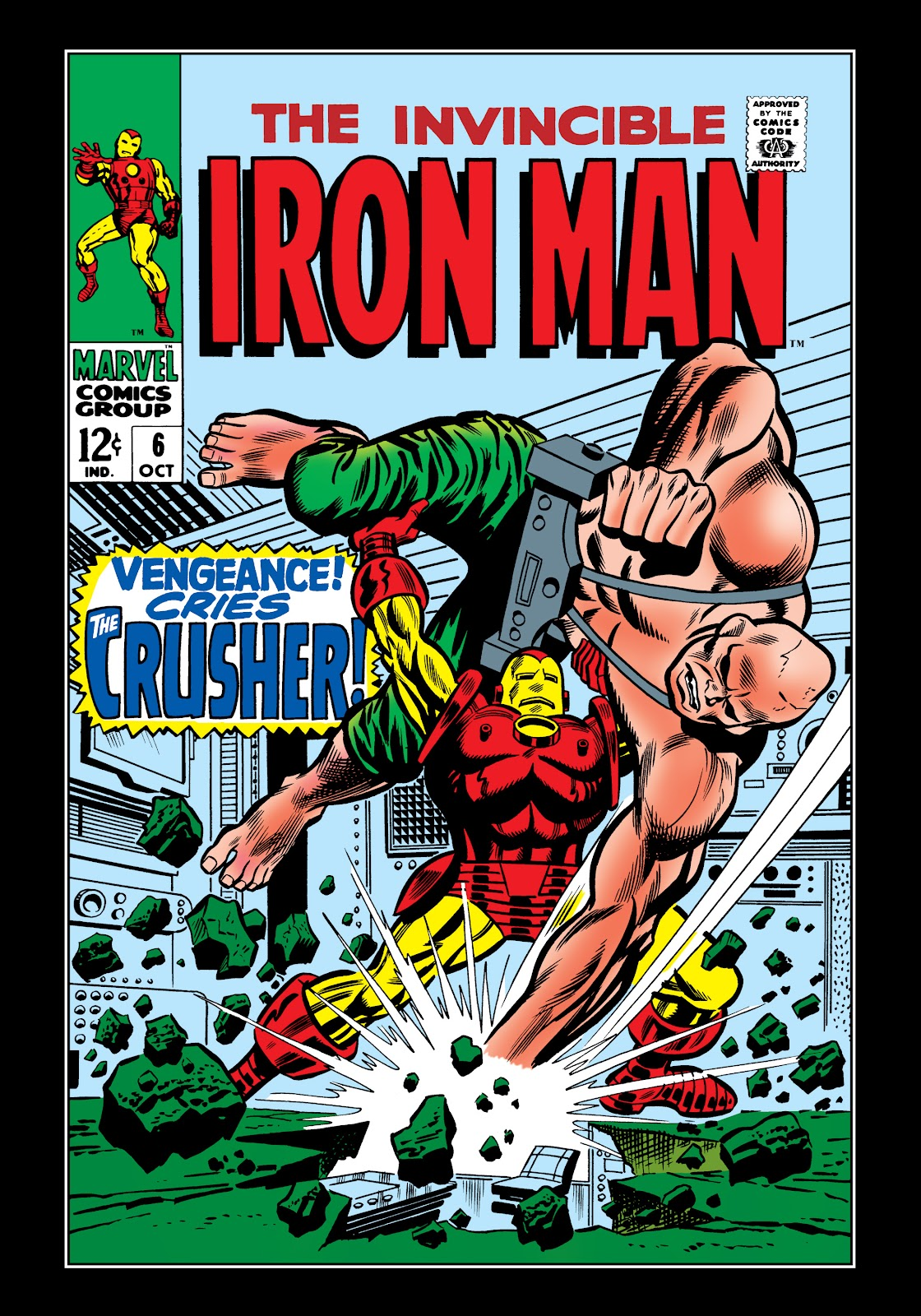 Read online Marvel Masterworks: The Invincible Iron Man comic -  Issue # TPB 5 (Part 1) - 91