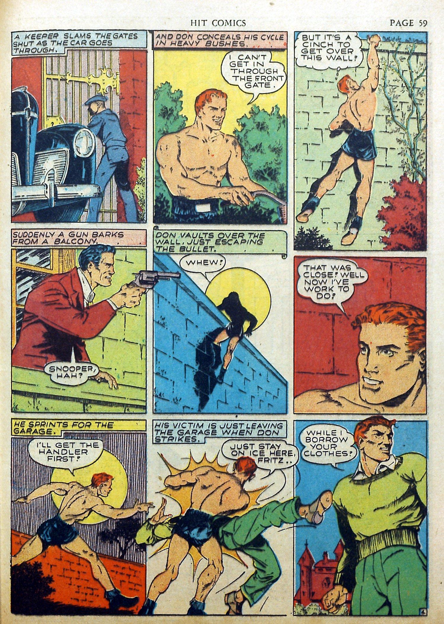 Read online Hit Comics comic -  Issue #17 - 61