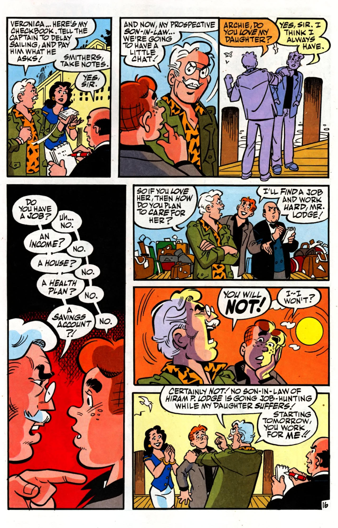 Read online Archie (1960) comic -  Issue #600 - 21