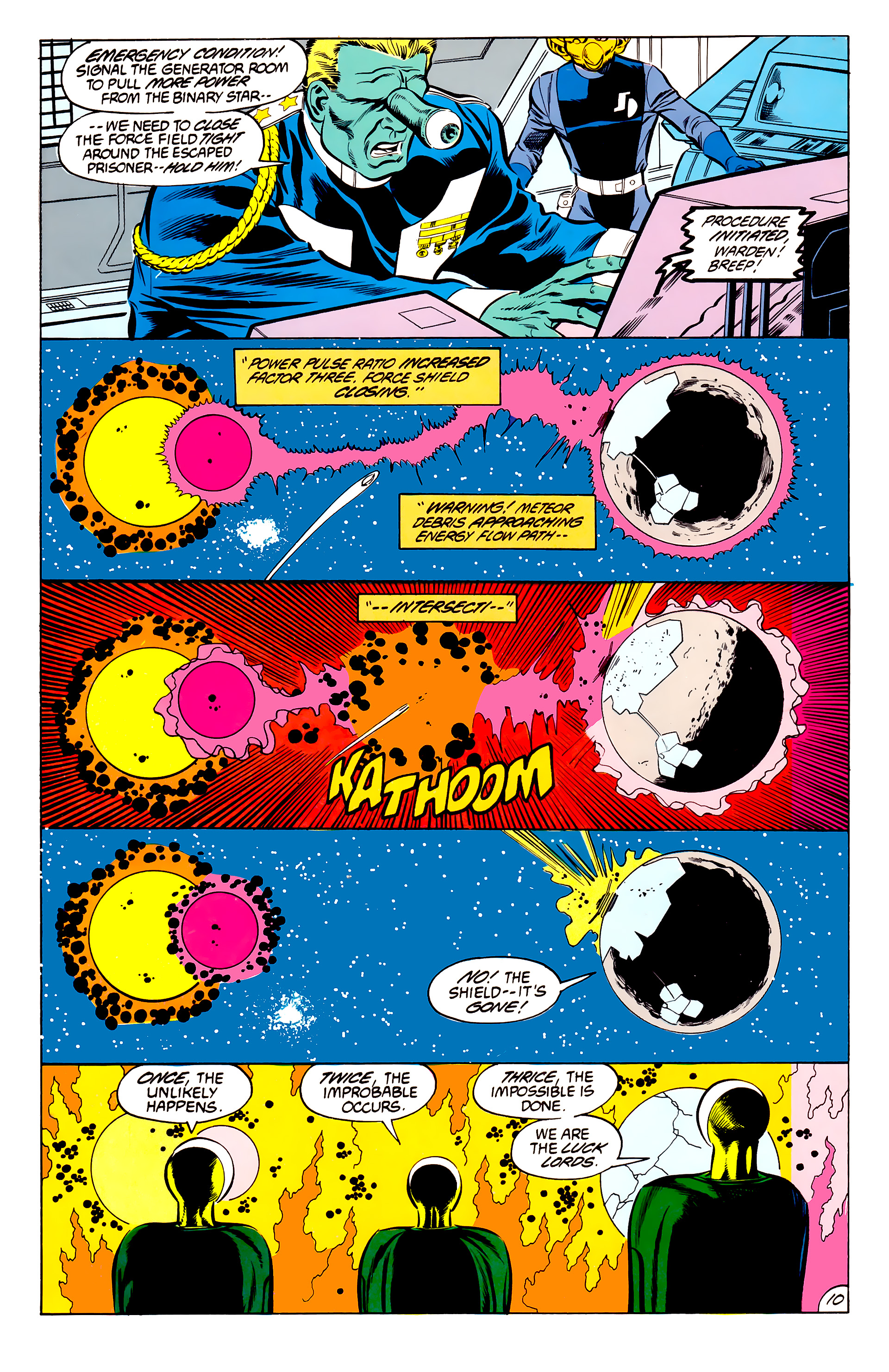 Legion of Super-Heroes (1984) 45 Page 10