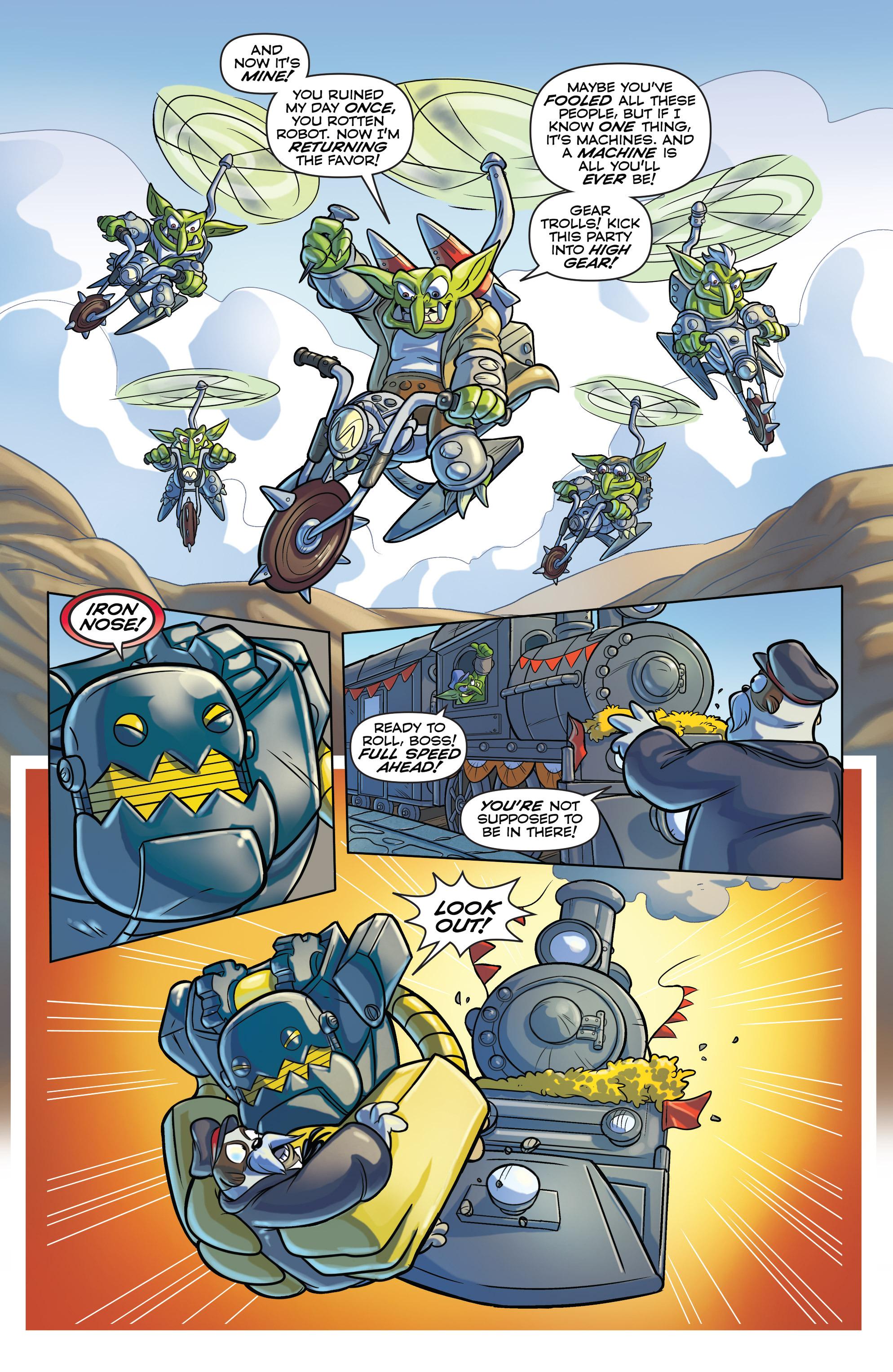 Read online Skylanders comic -  Issue #6 - 8