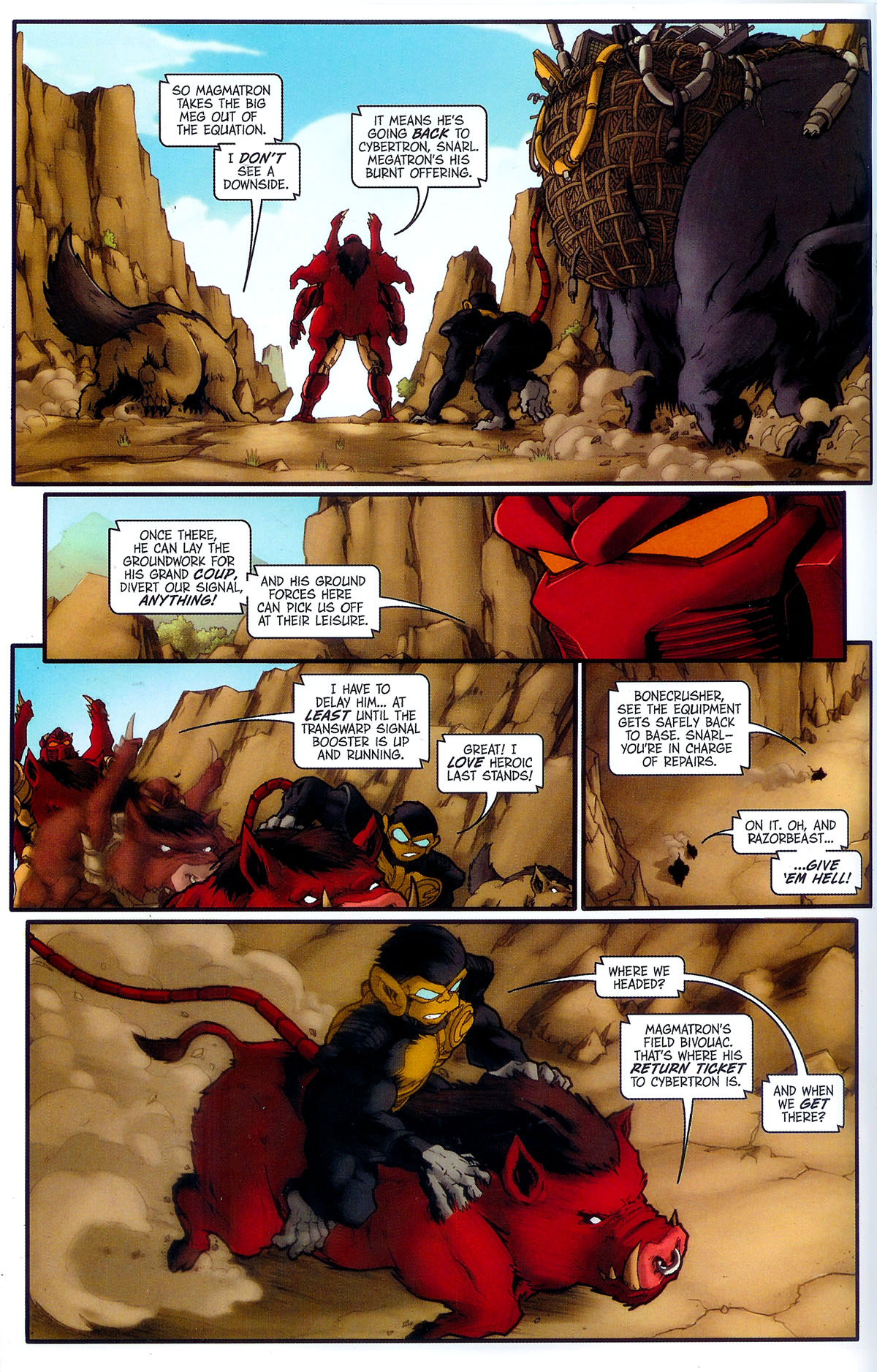 Read online Transformers, Beast Wars: The Gathering comic -  Issue #3 - 21